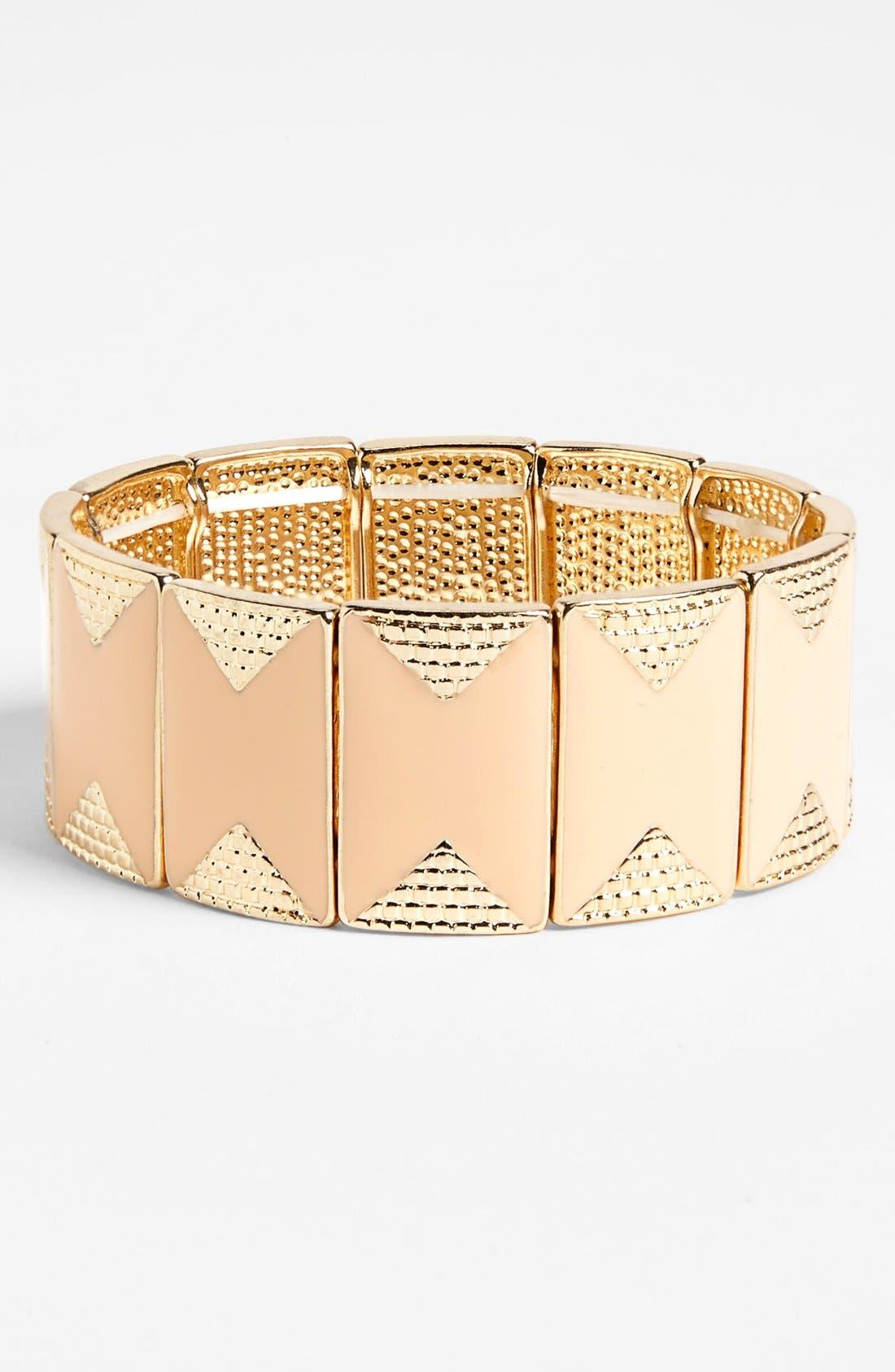 Alternate Image 1 Selected - BP. Enamel Deco Bracelet (Juniors)