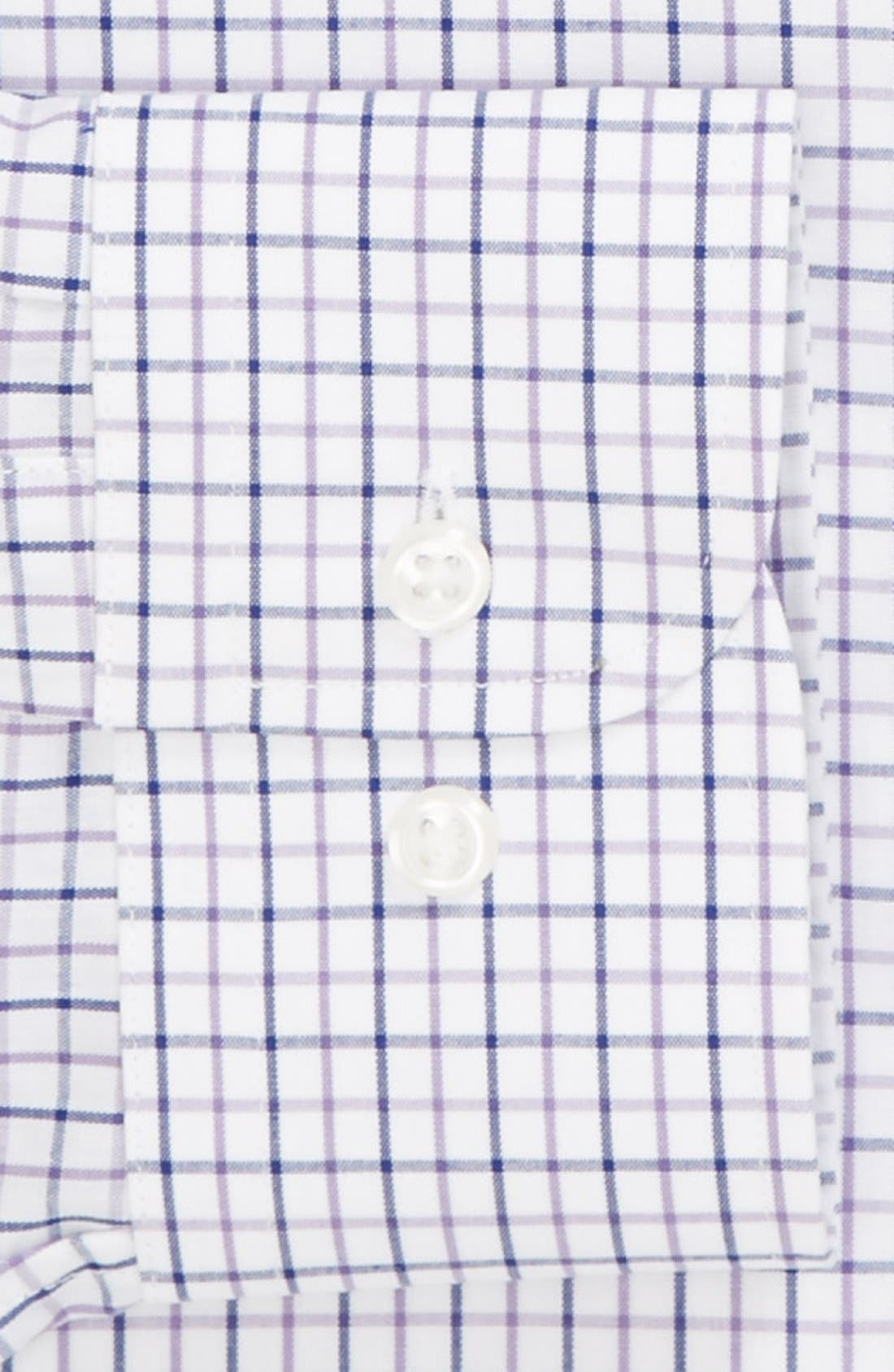 Alternate Image 2  - Nordstrom Trim Fit Non-Iron Dress Shirt