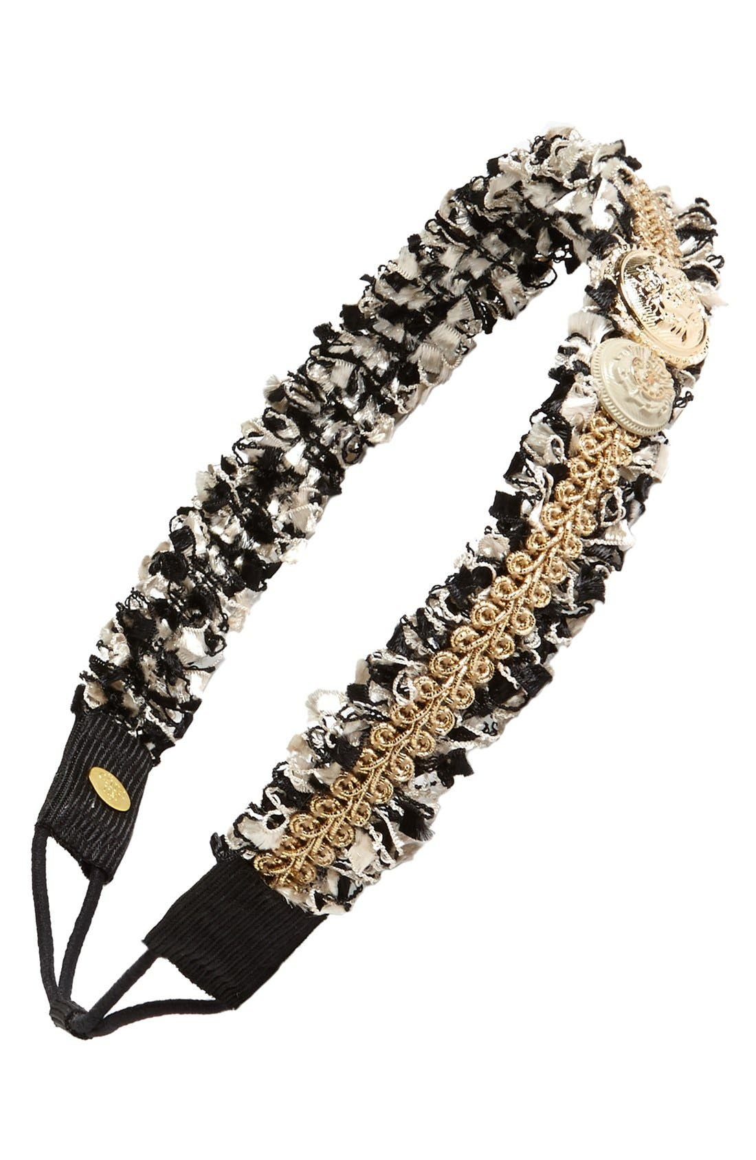 Alternate Image 1 Selected - Cara 'Royal Ruffle' Head Wrap