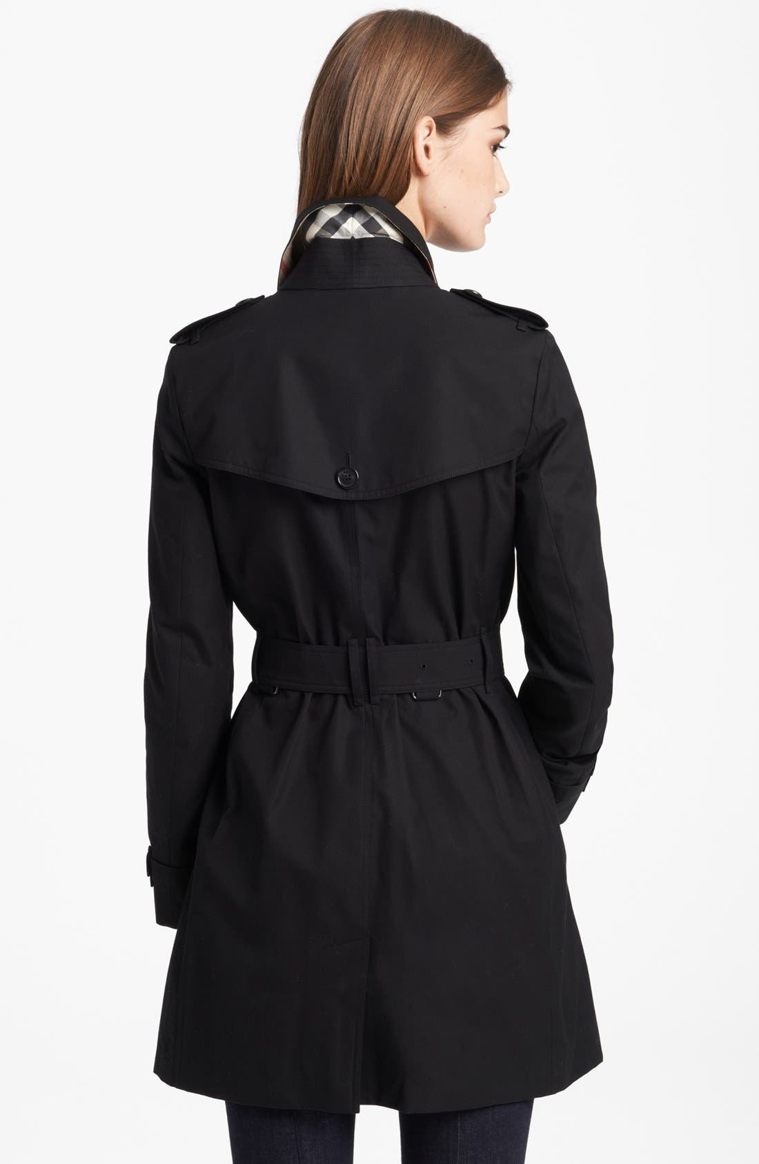 Alternate Image 2  - Burberry London 'Buckingham' Double Breasted Trench Coat