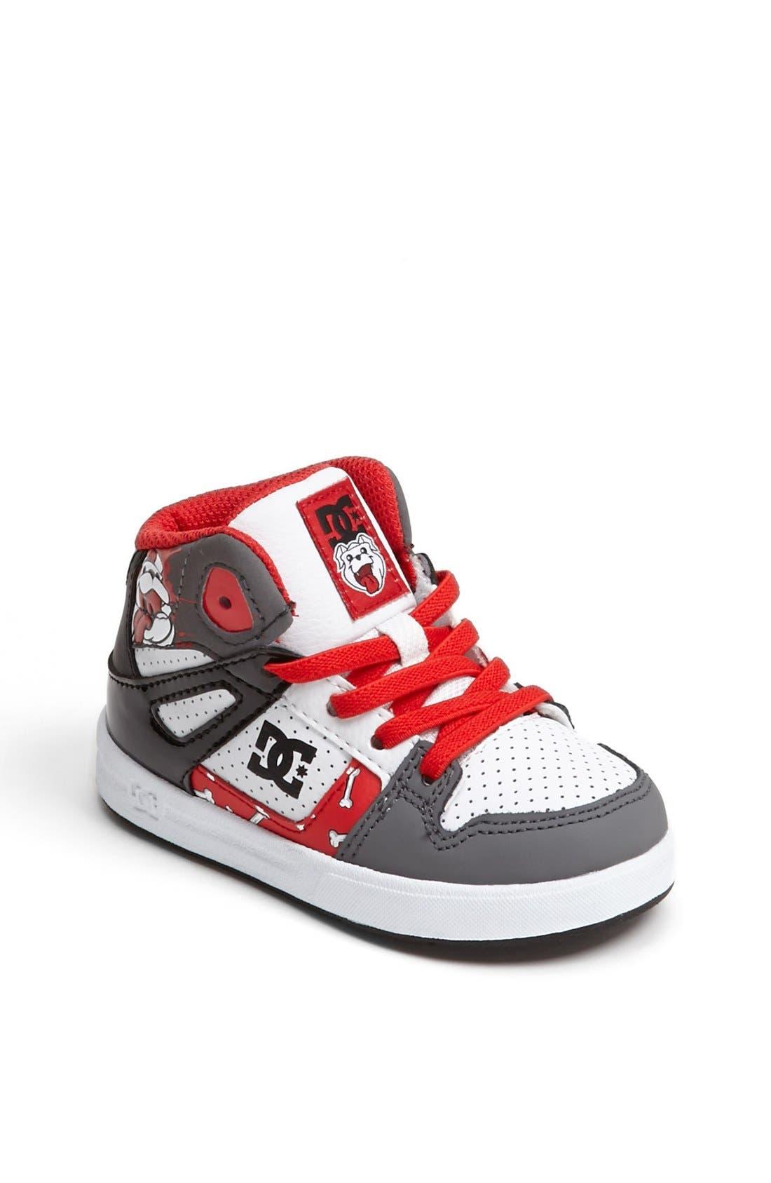Main Image - DC Shoes 'Wild Grinders - Rebound' Sneaker (Walker & Toddler)