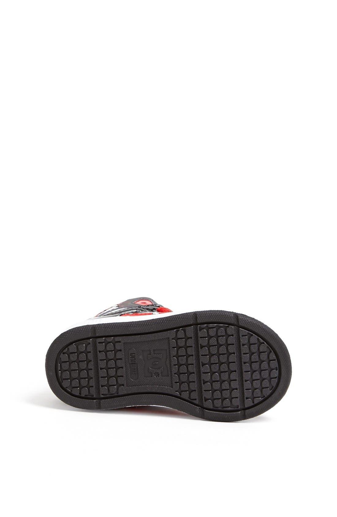 Alternate Image 4  - DC Shoes 'Wild Grinders - Rebound' Sneaker (Walker & Toddler)