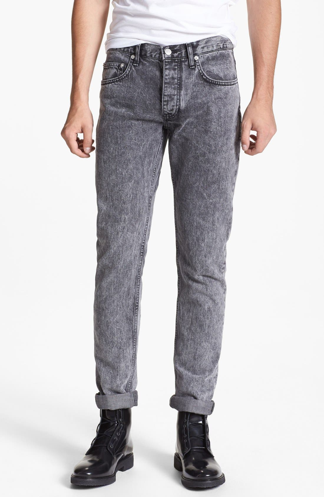 Main Image - sandro 'Pixies' Straight Leg Jeans