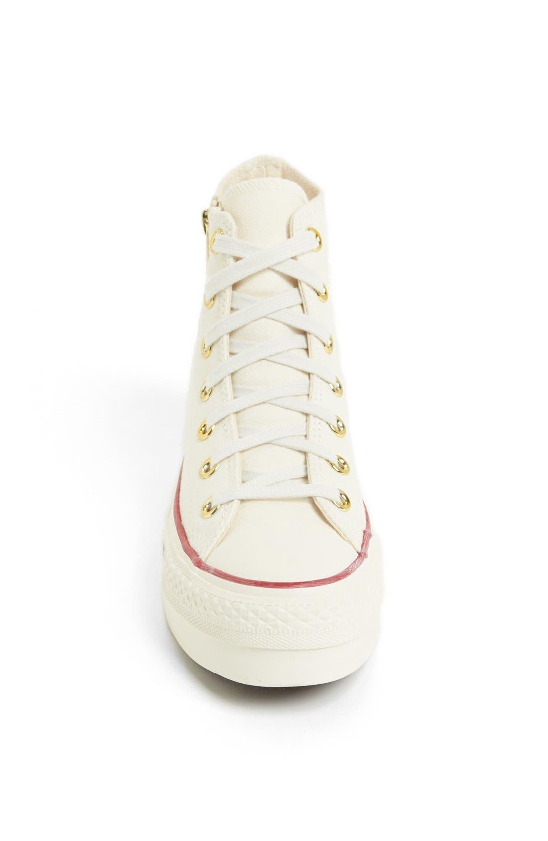 Alternate Image 3  - Converse Chuck Taylor® All Star® Platform High Top Sneaker (Women)