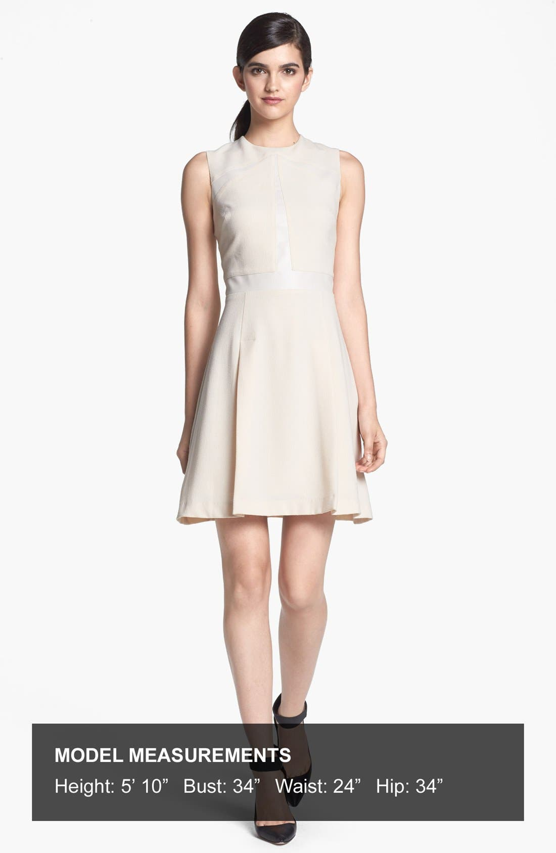 Alternate Image 4  - Search for Sanity Tonal Inset Fit & Flare Dress