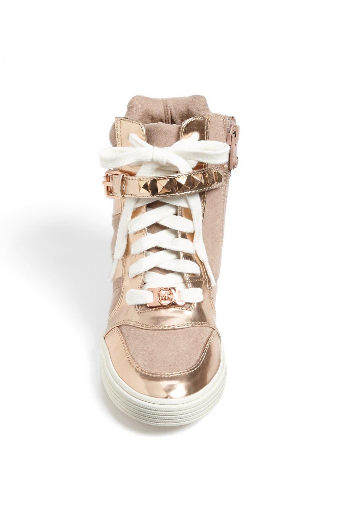 Alternate Image 3  - MICHAEL Michael Kors 'Celia' High Top Sneaker (Little Kid & Big Kid)