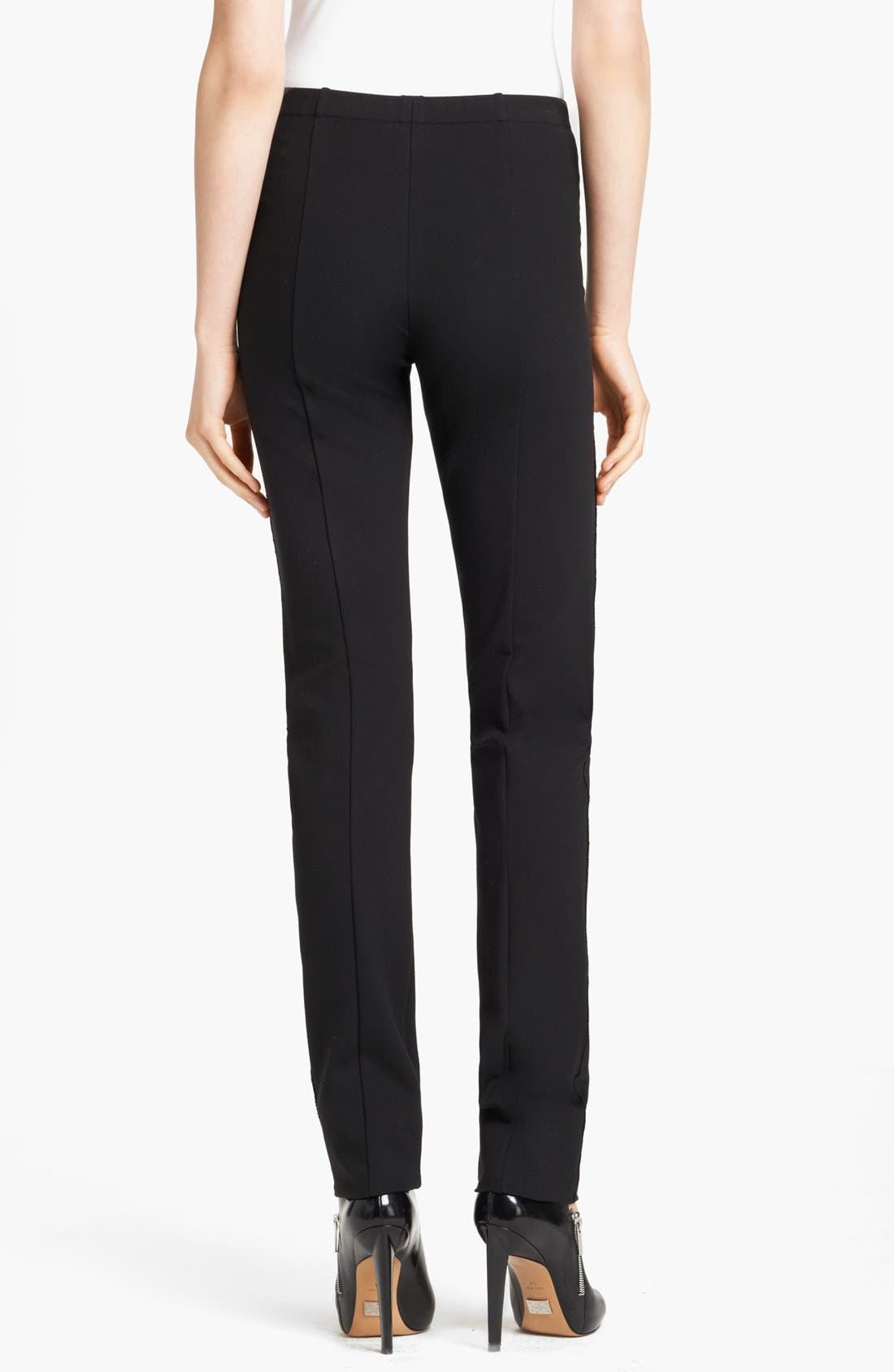 Alternate Image 2  - Donna Karan Collection Straight Leg Structured Jersey Pants