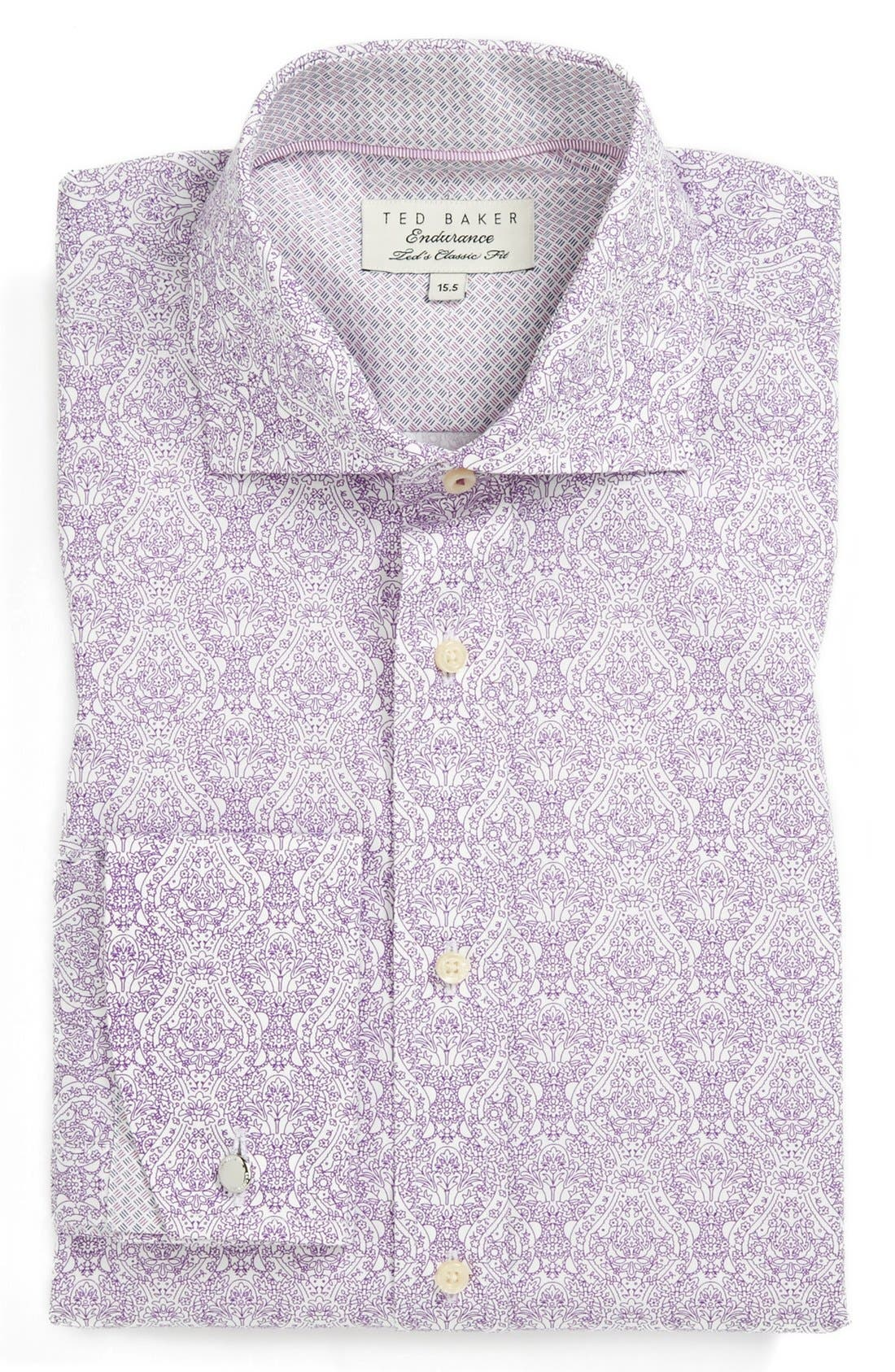 Main Image - Ted Baker London Extra Trim Fit Dress Shirt