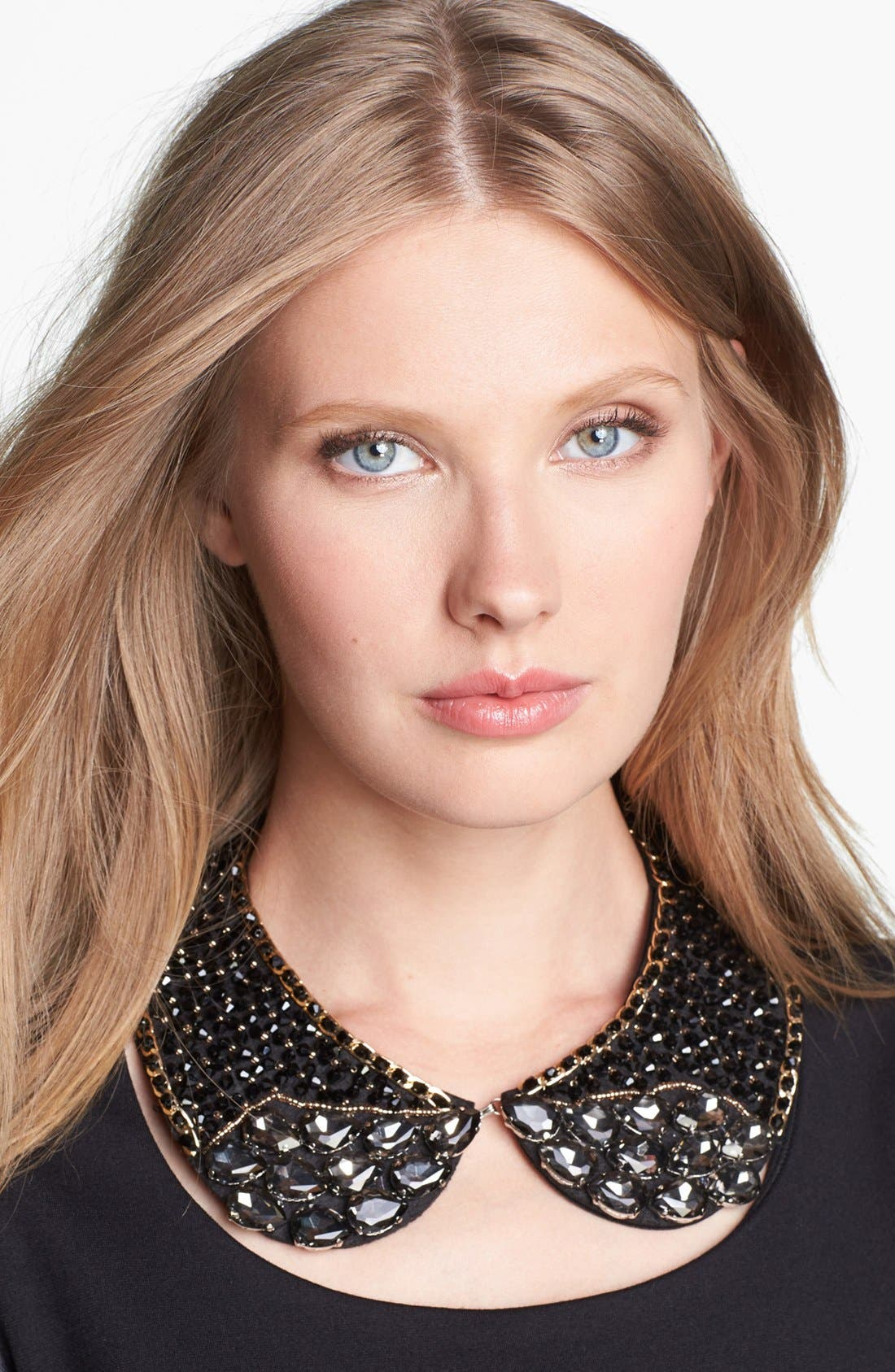 Main Image - Tasha 'Black Tie' Collar Necklace