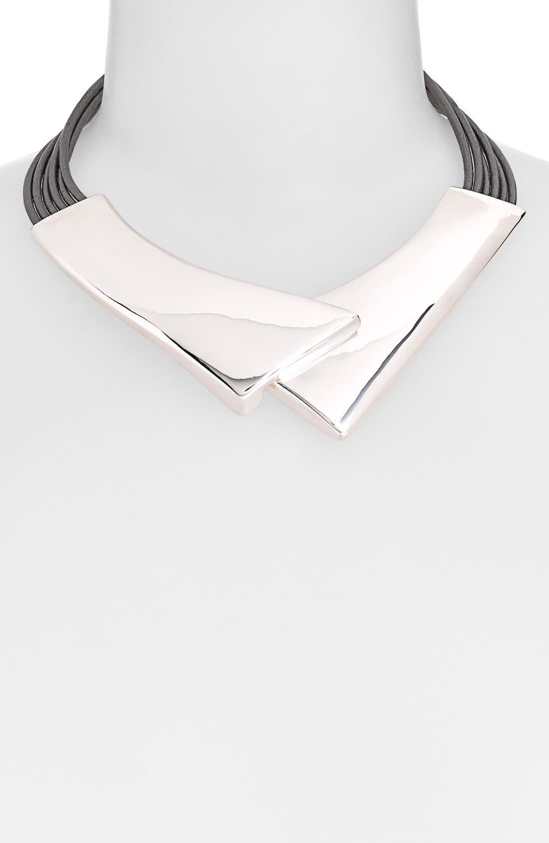 Alternate Image 1 Selected - Simon Sebbag 'Black & Silver' Collar Necklace