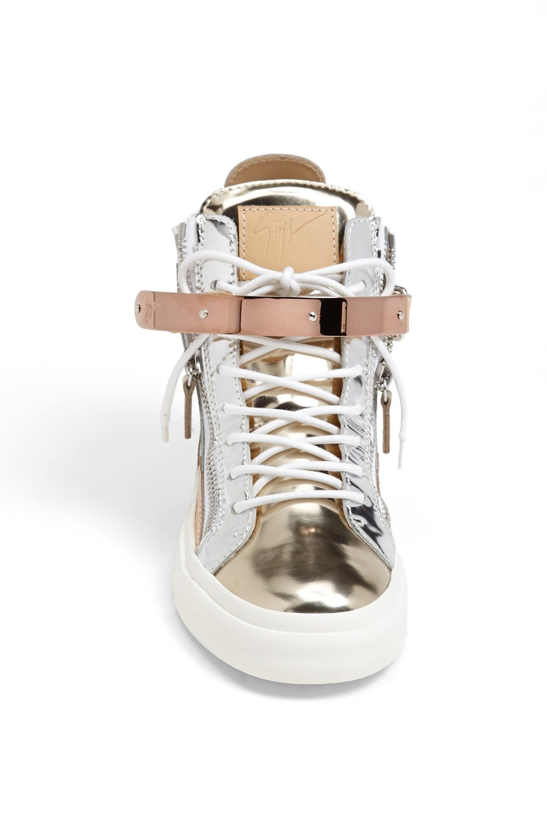 Alternate Image 3  - Giuseppe Zanotti 'London' High Top Wedge Sneaker