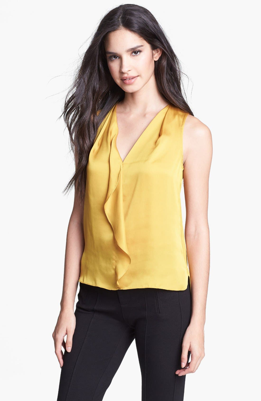 Main Image - Kenneth Cole New York 'Hester' Ruffle Blouse (Petite)