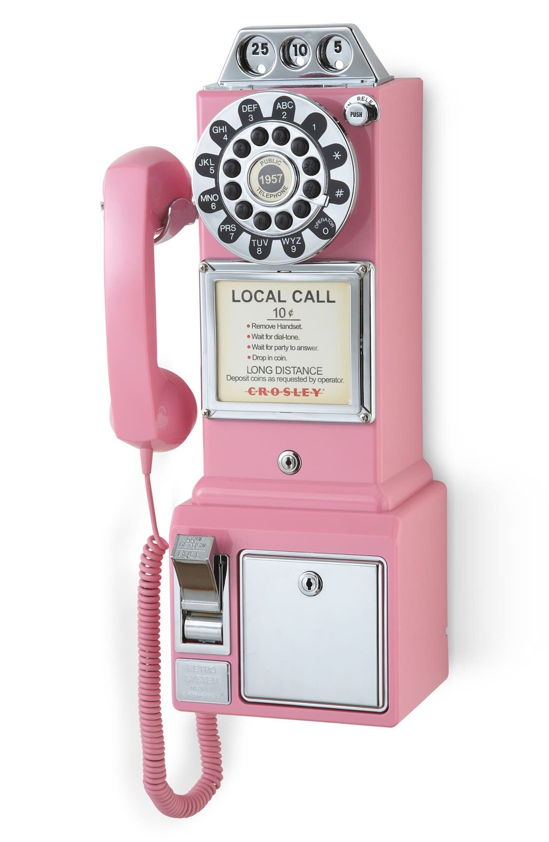 Alternate Image 2  - Crosley Radio 'Pay Phone' Wall Phone