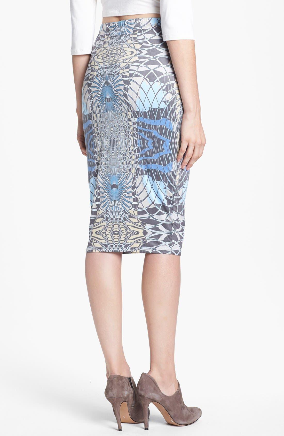 Alternate Image 2  - Leith Print Pencil Skirt