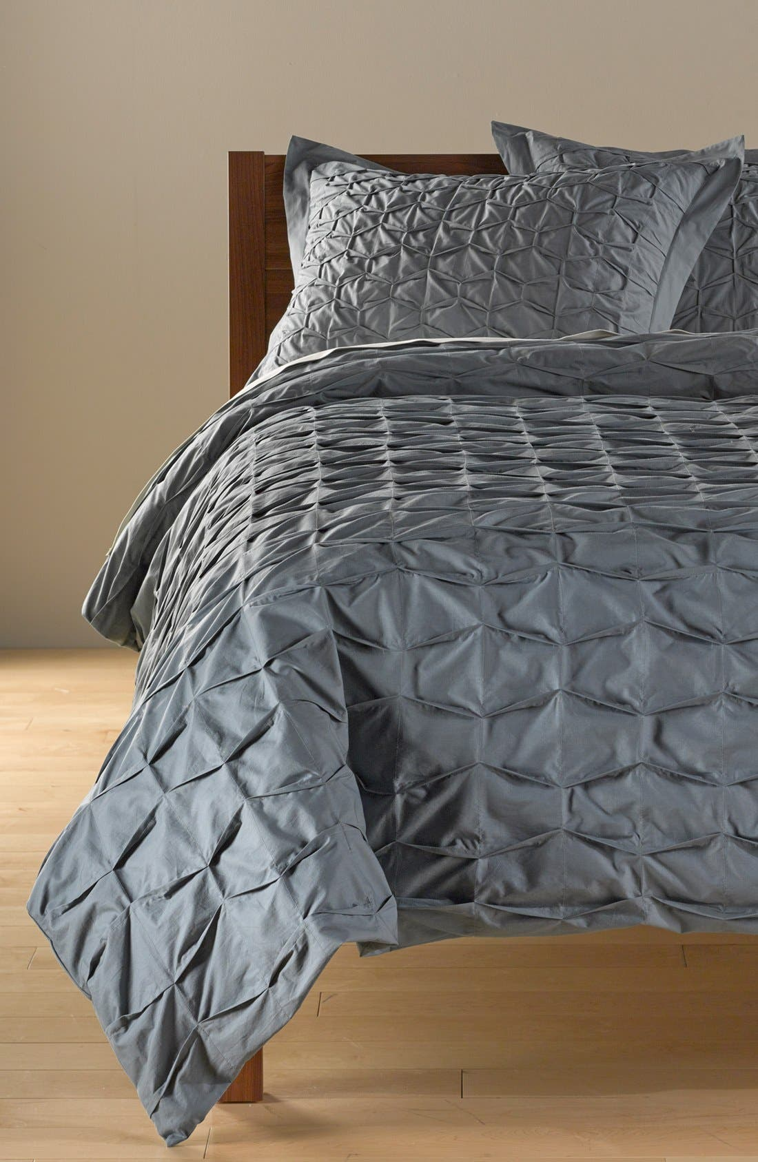 Alternate Image 1 Selected - Nordstrom at Home Box Pleat Duvet Cover