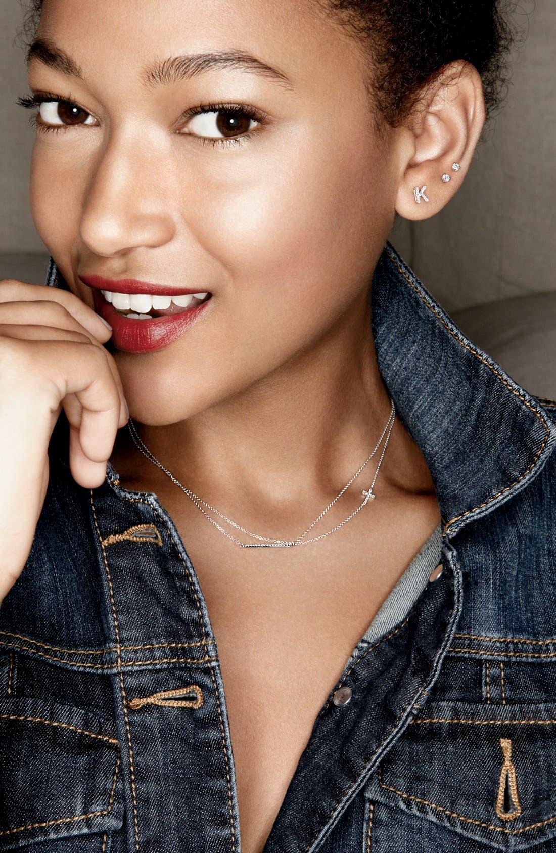 Alternate Image 3  - Bony Levy Diamond Bar Necklace (Nordstrom Exclusive)