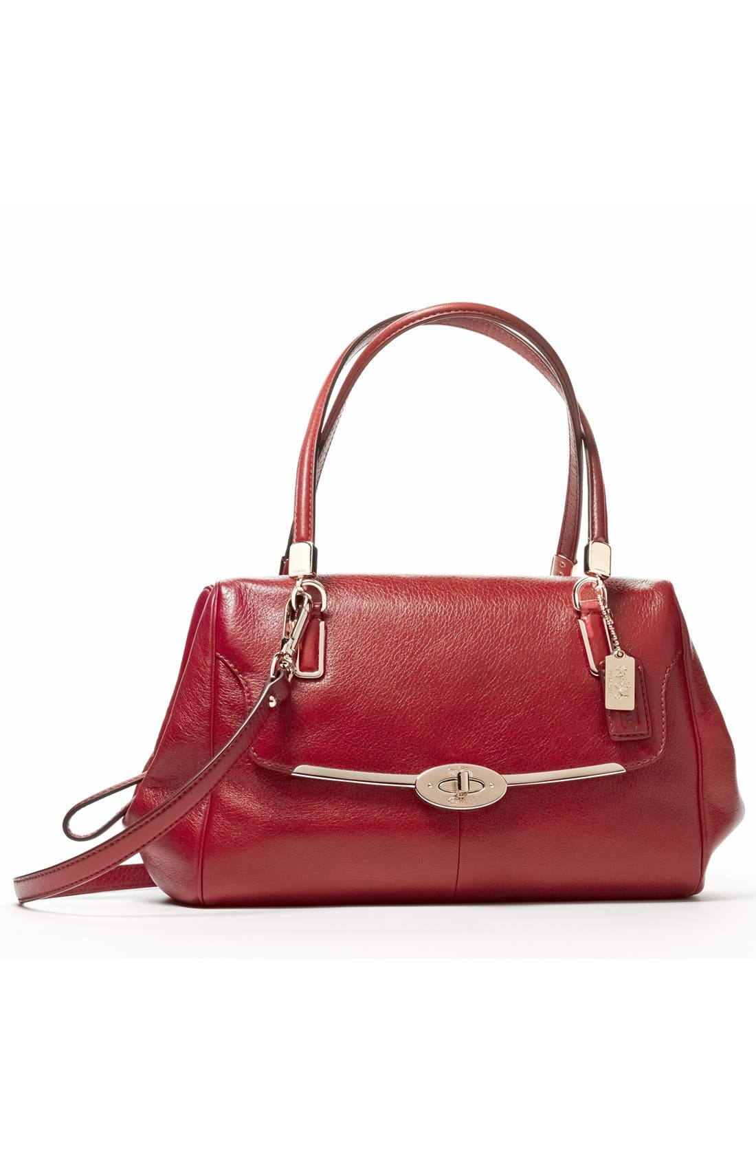 Alternate Image 8  - COACH 'Madison' Leather Crossbody Bag