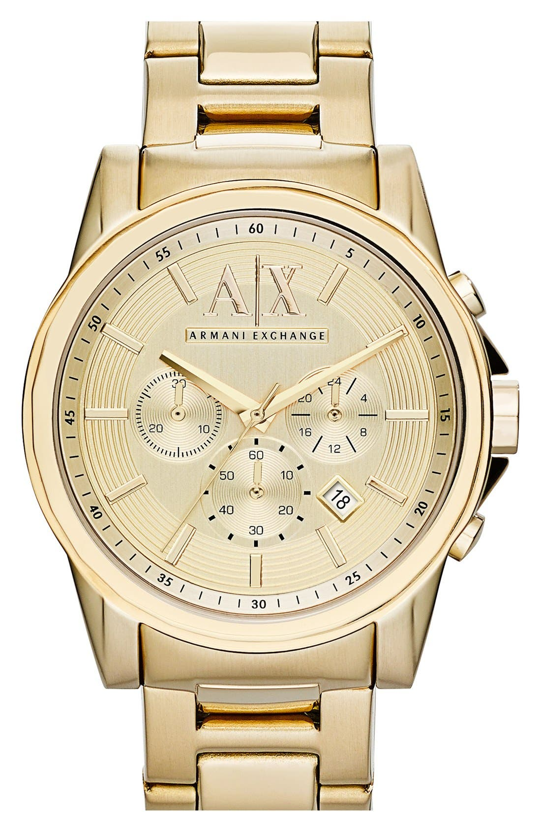 AX Armani Exchange Chronograph Bracelet Watch, 45mm