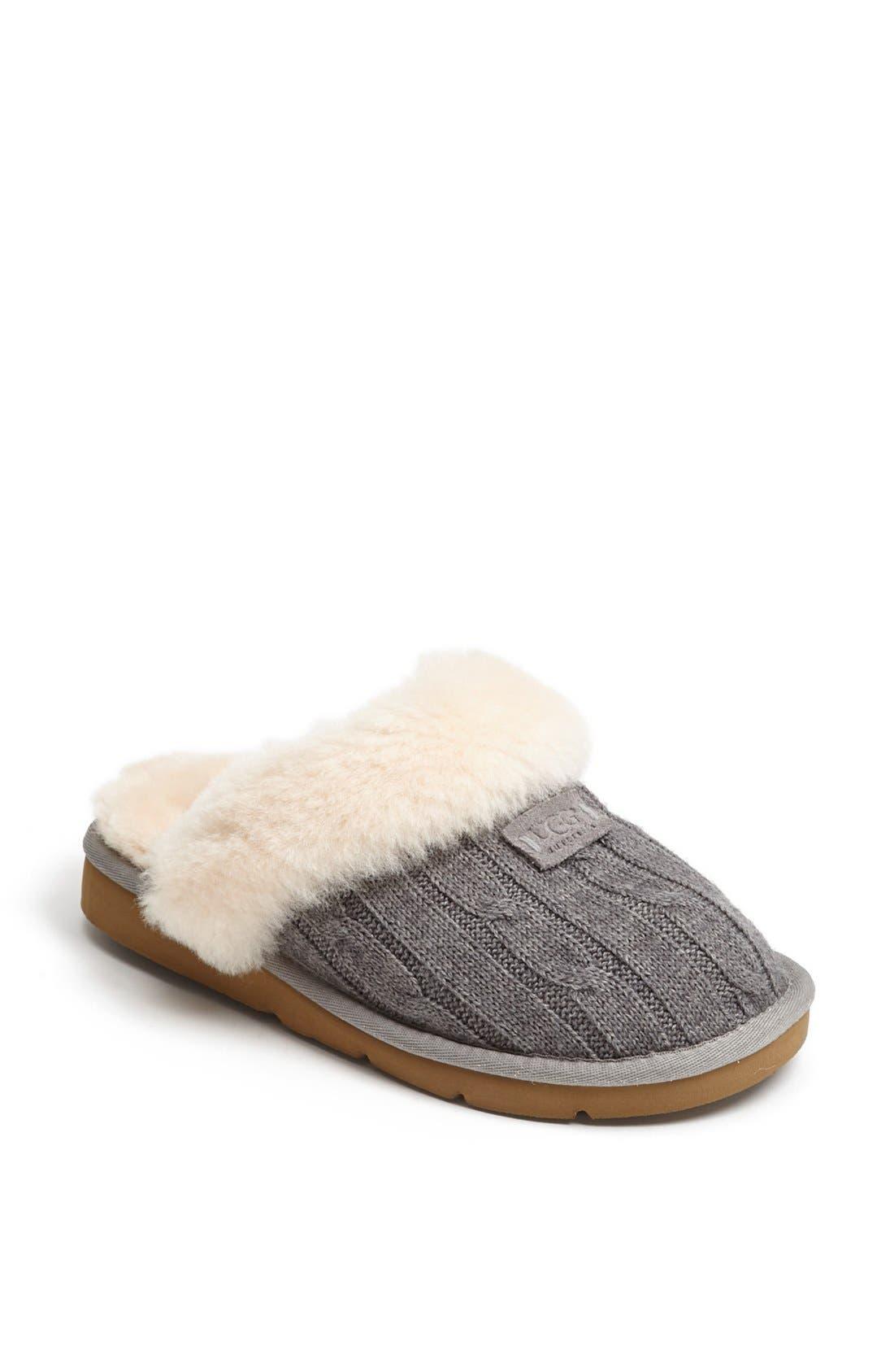 Alternate Image 1 Selected - UGG® Australia 'Cozy' Knit Slipper (Women)