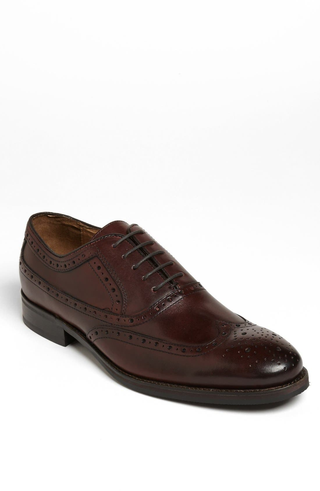 Alternate Image 1 Selected - Johnston & Murphy 'Tyndall' Wingtip (Online Only)