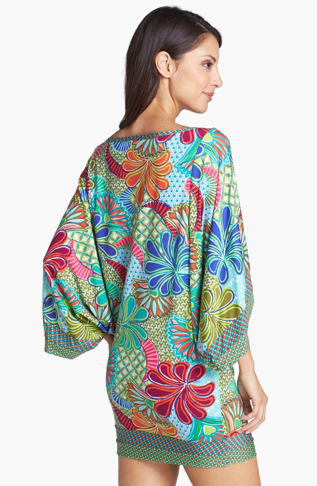 Alternate Image 2  - Trina Turk 'Zanzibar' Tunic Cover-Up