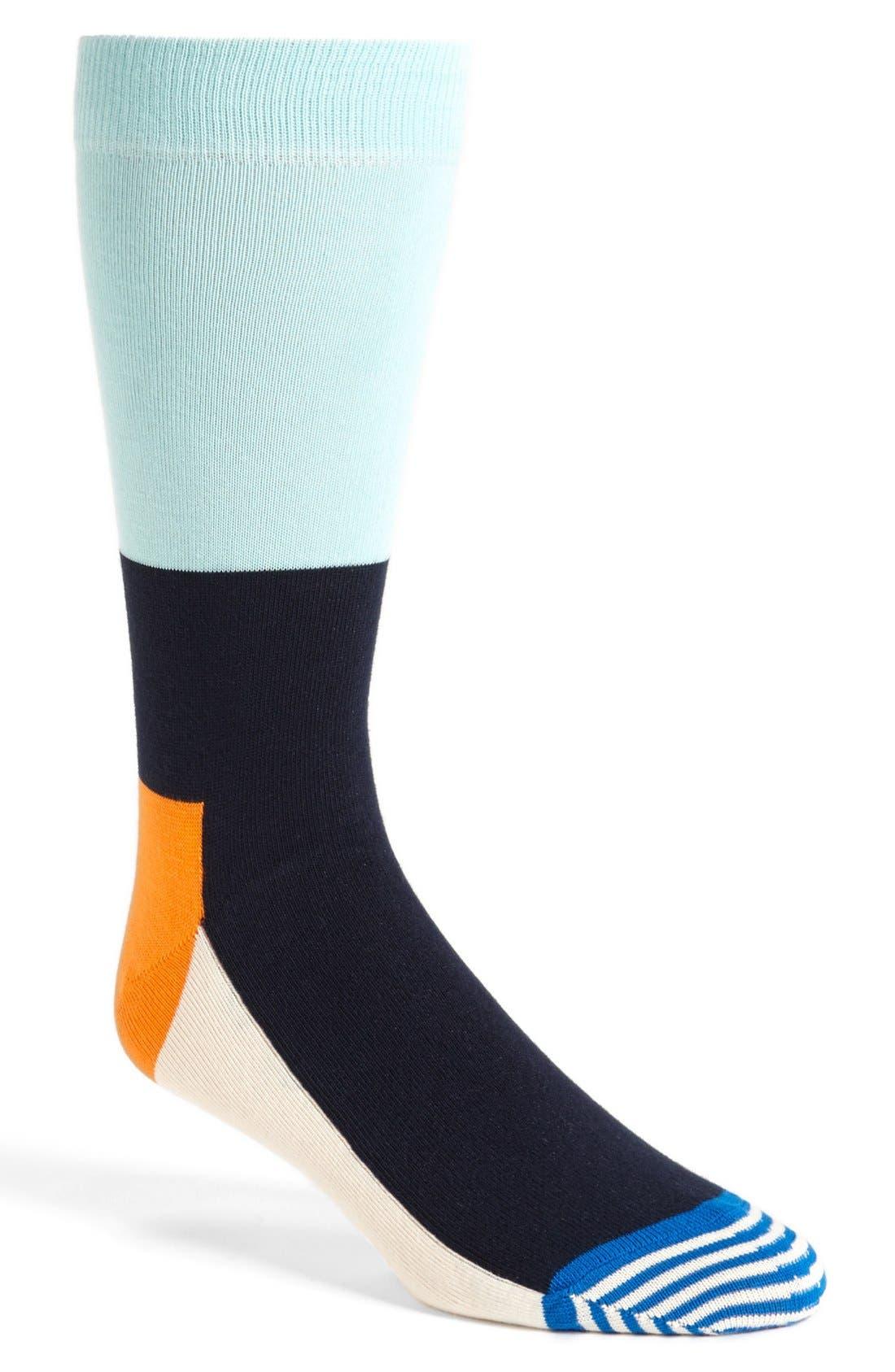 Alternate Image 1 Selected - Happy Socks Stripe Socks