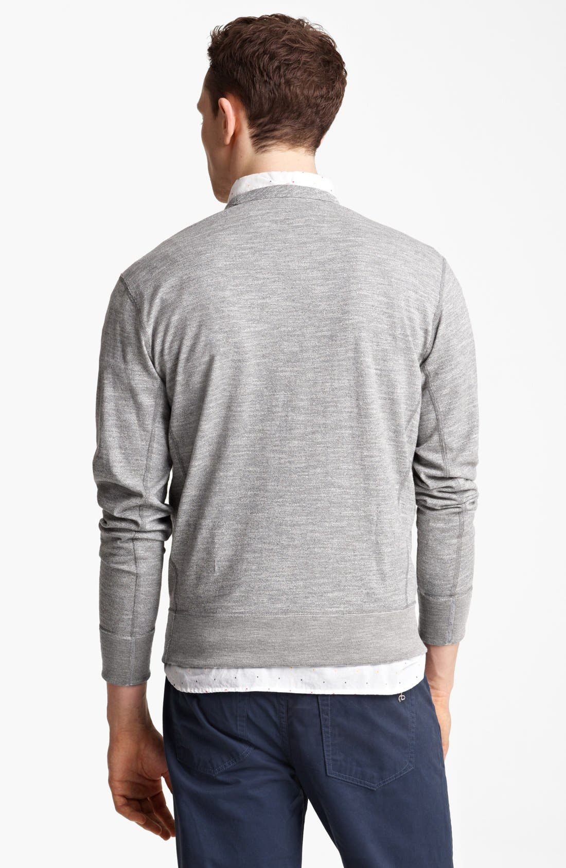 Alternate Image 2  - rag & bone Crewneck Sweatshirt