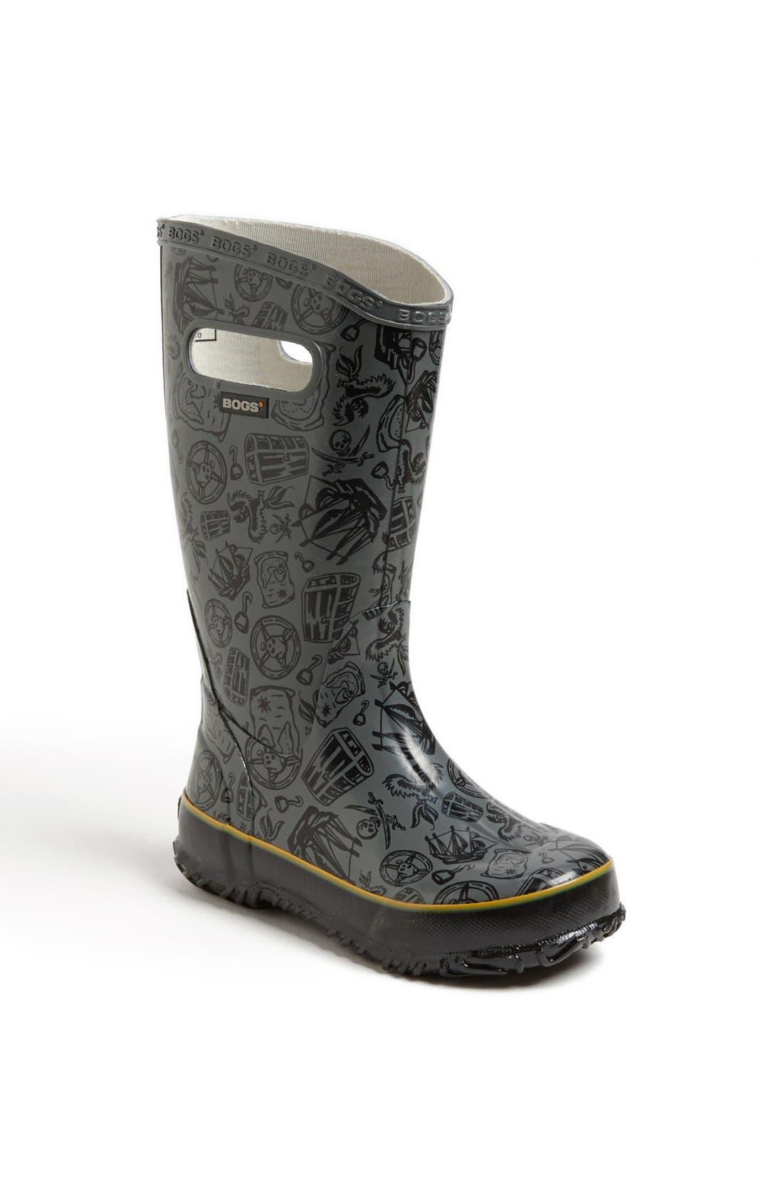 Alternate Image 1 Selected - Bogs 'Pirate' Rain Boot (Walker, Toddler, Little Kid & Big Kid)
