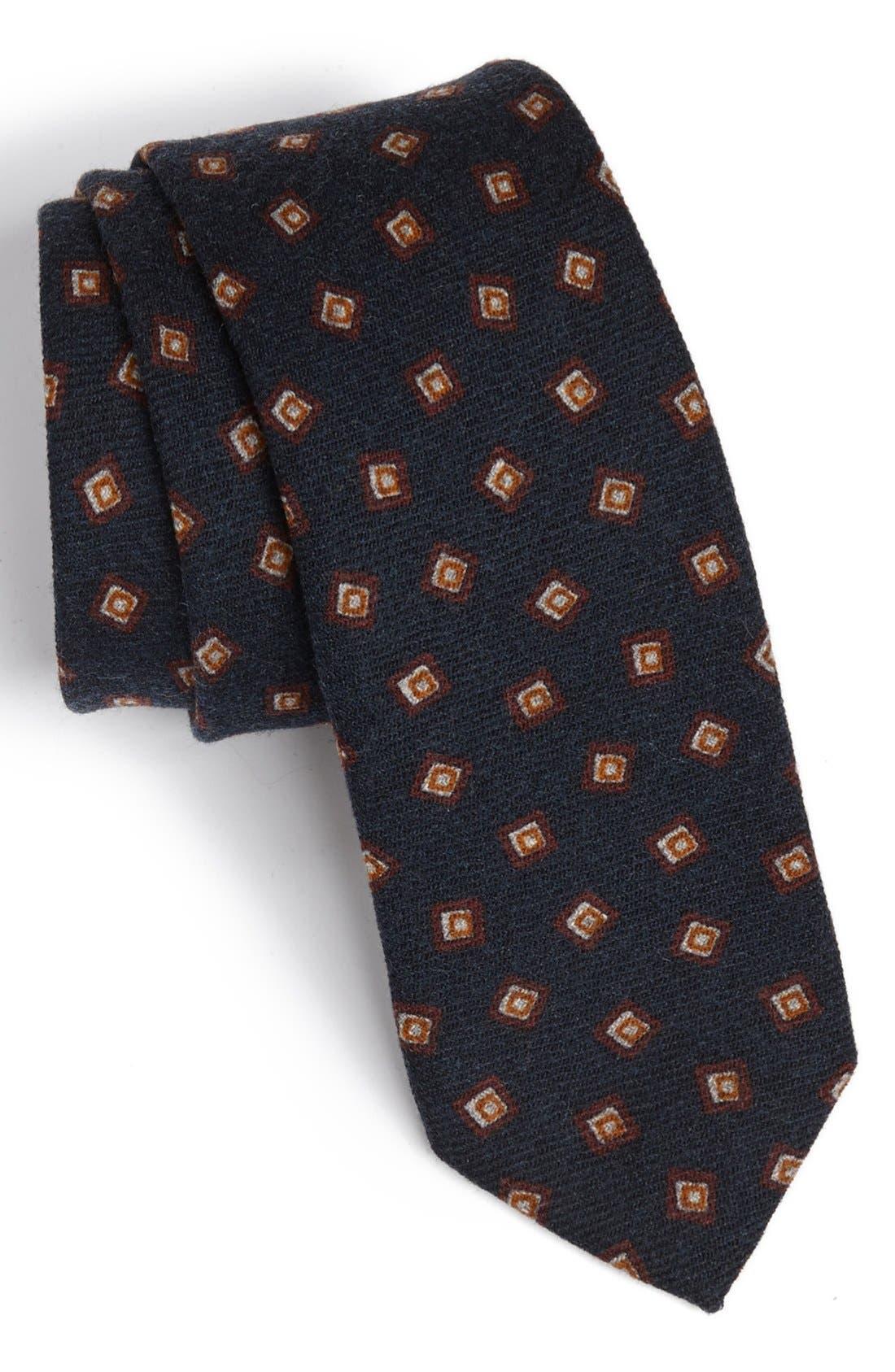 Main Image - BOSS HUGO BOSS Woven Wool Tie