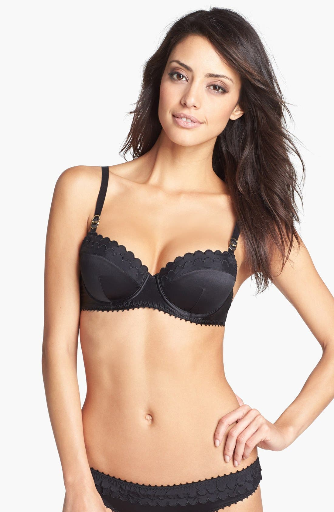 Main Image - Stella McCartney 'Becky Smiling' Underwire Balconette Bra