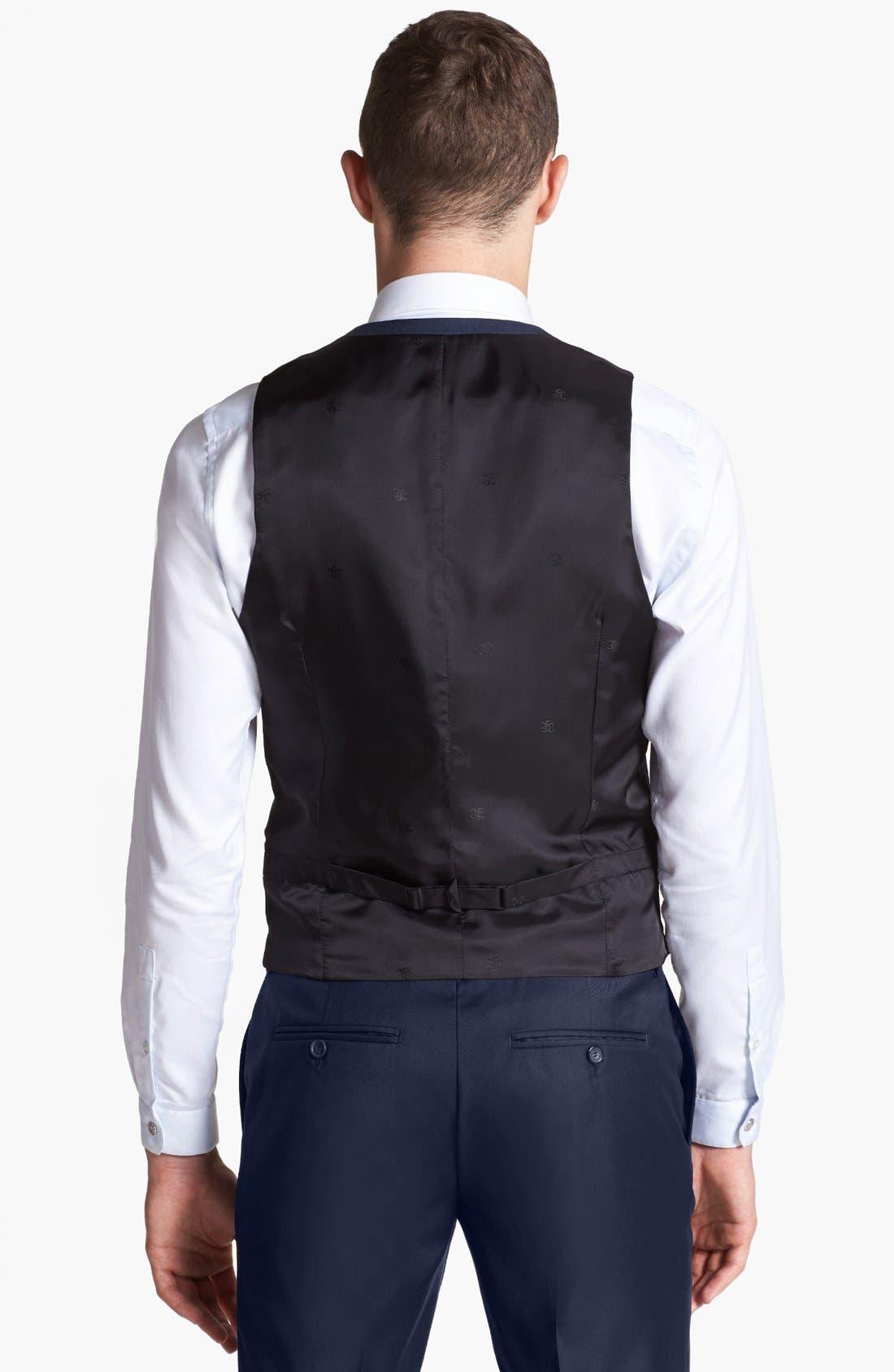 Alternate Image 2  - The Kooples Navy Wool Vest