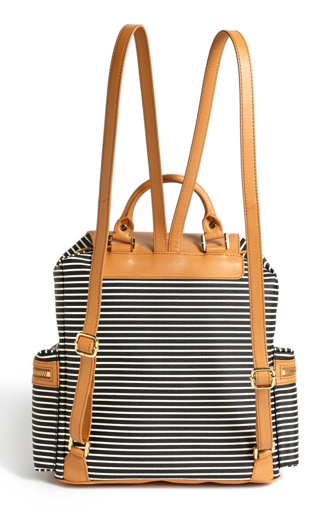 Alternate Image 4  - Tory Burch 'Viva' Canvas & Leather Backpack