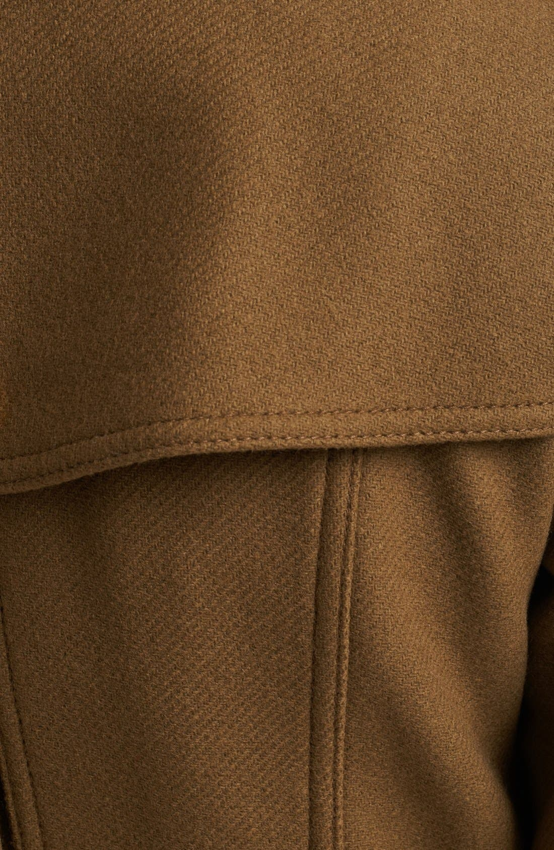 Alternate Image 3  - Burberry Brit 'Daylesmoore' Wool Blend Trench Coat