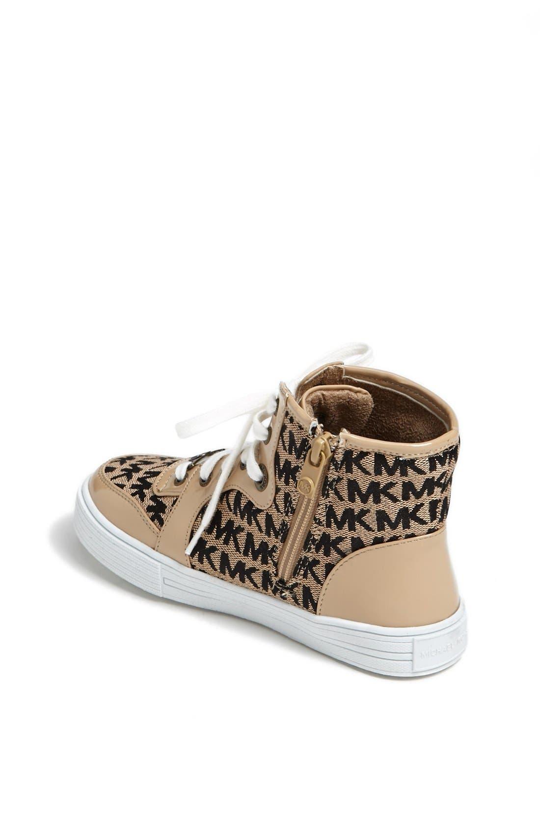 Alternate Image 2  - MICHAEL Michael Kors 'Arctic' High Top Sneaker (Walker, Toddler, Little Kid & Big Kid)