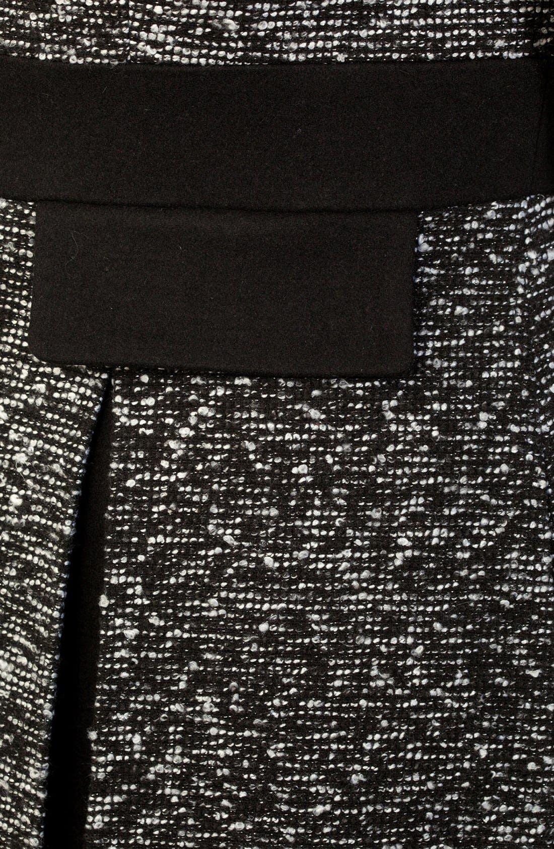 Alternate Image 4  - City Chic Bouclé Fit & Flare Jacket (Plus Size)