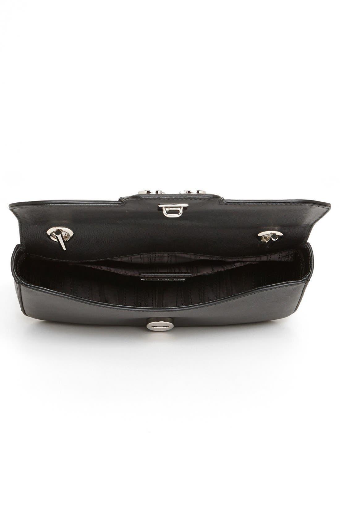 Alternate Image 3  - Salvatore Ferragamo 'Rory' Leather Shoulder Bag