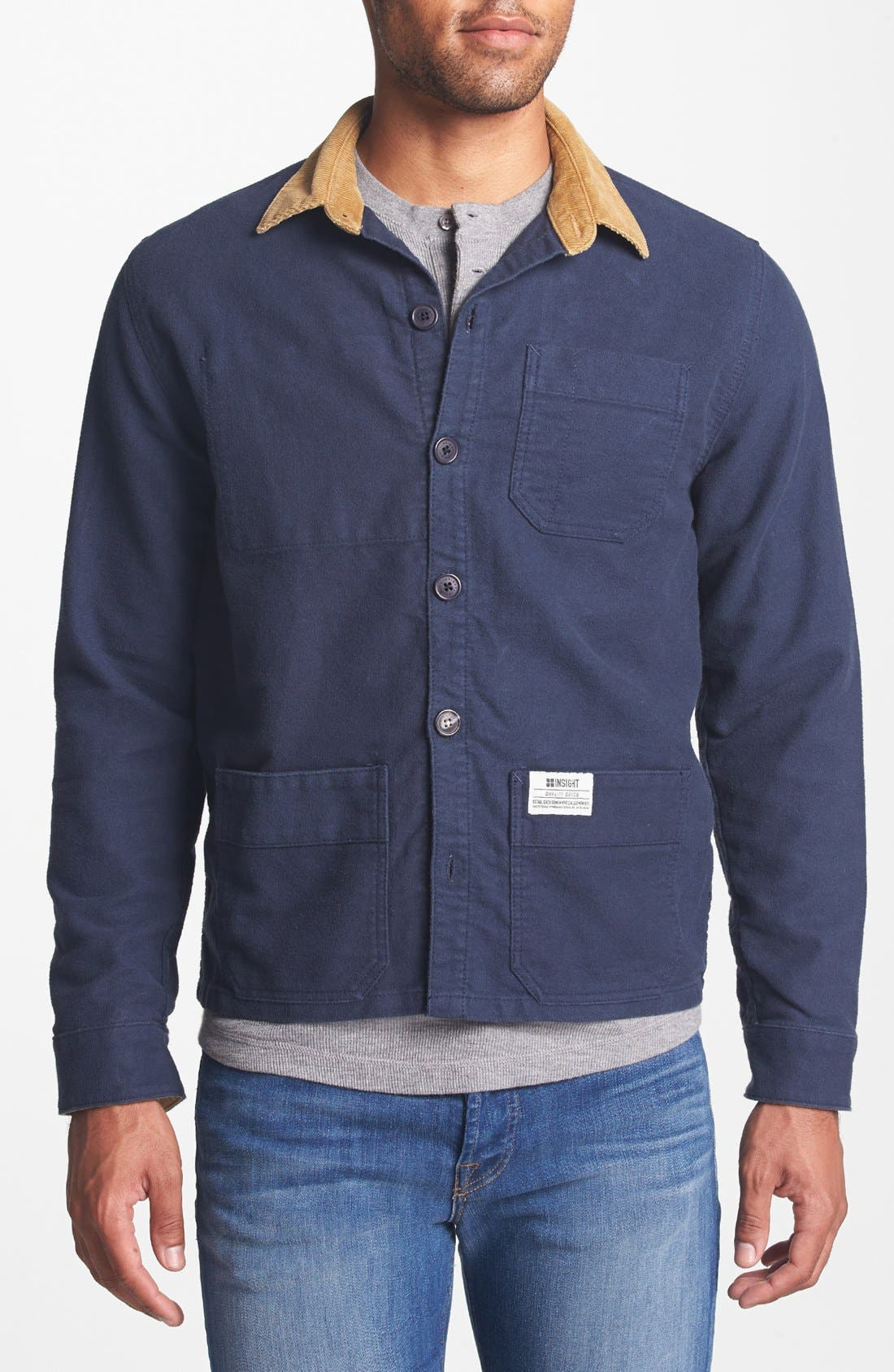 Alternate Image 1 Selected - Insight 'Live Well' Work Shirt