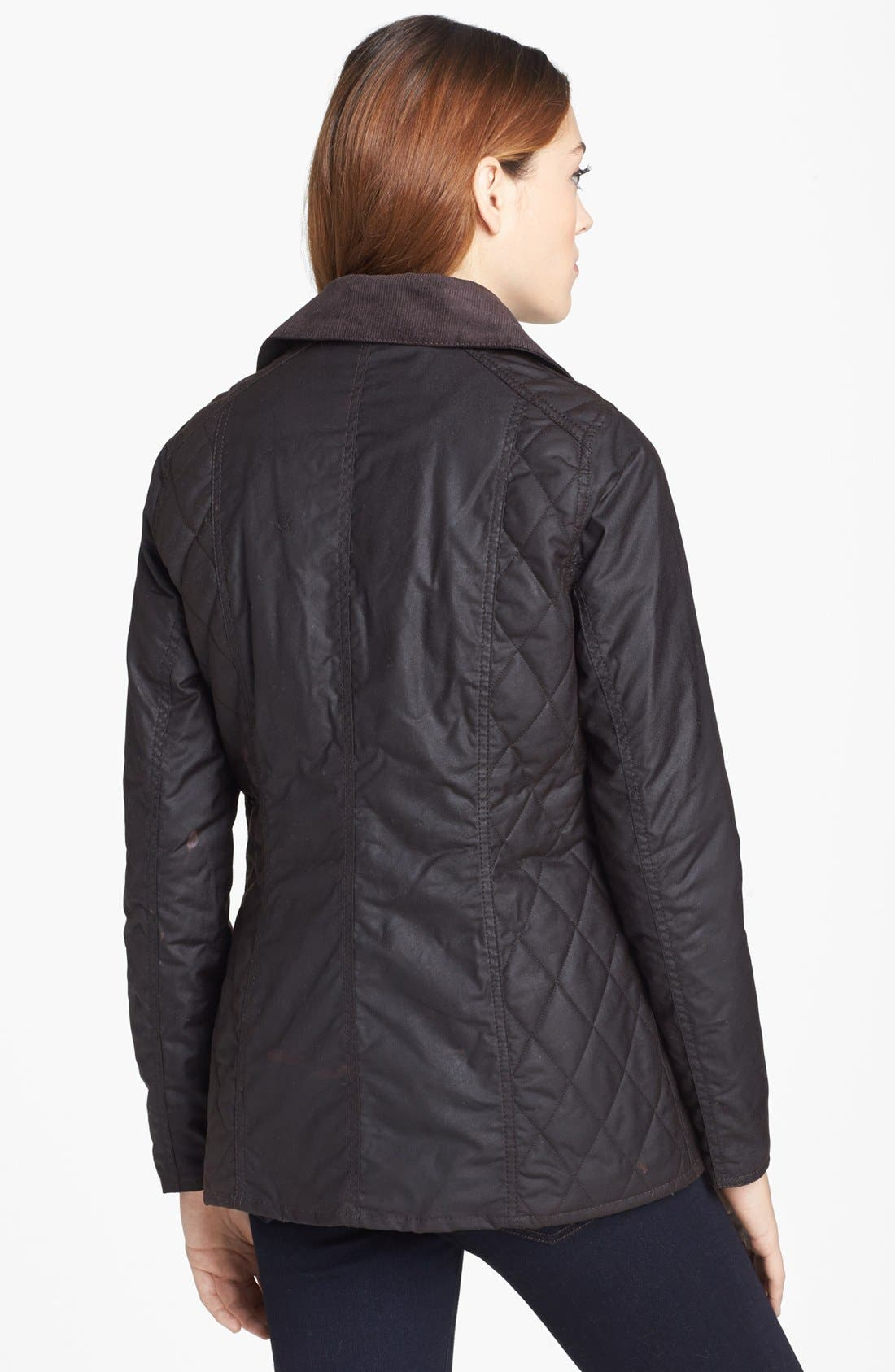 Alternate Image 2  - Barbour 'Sapey' Waxed Cotton Jacket