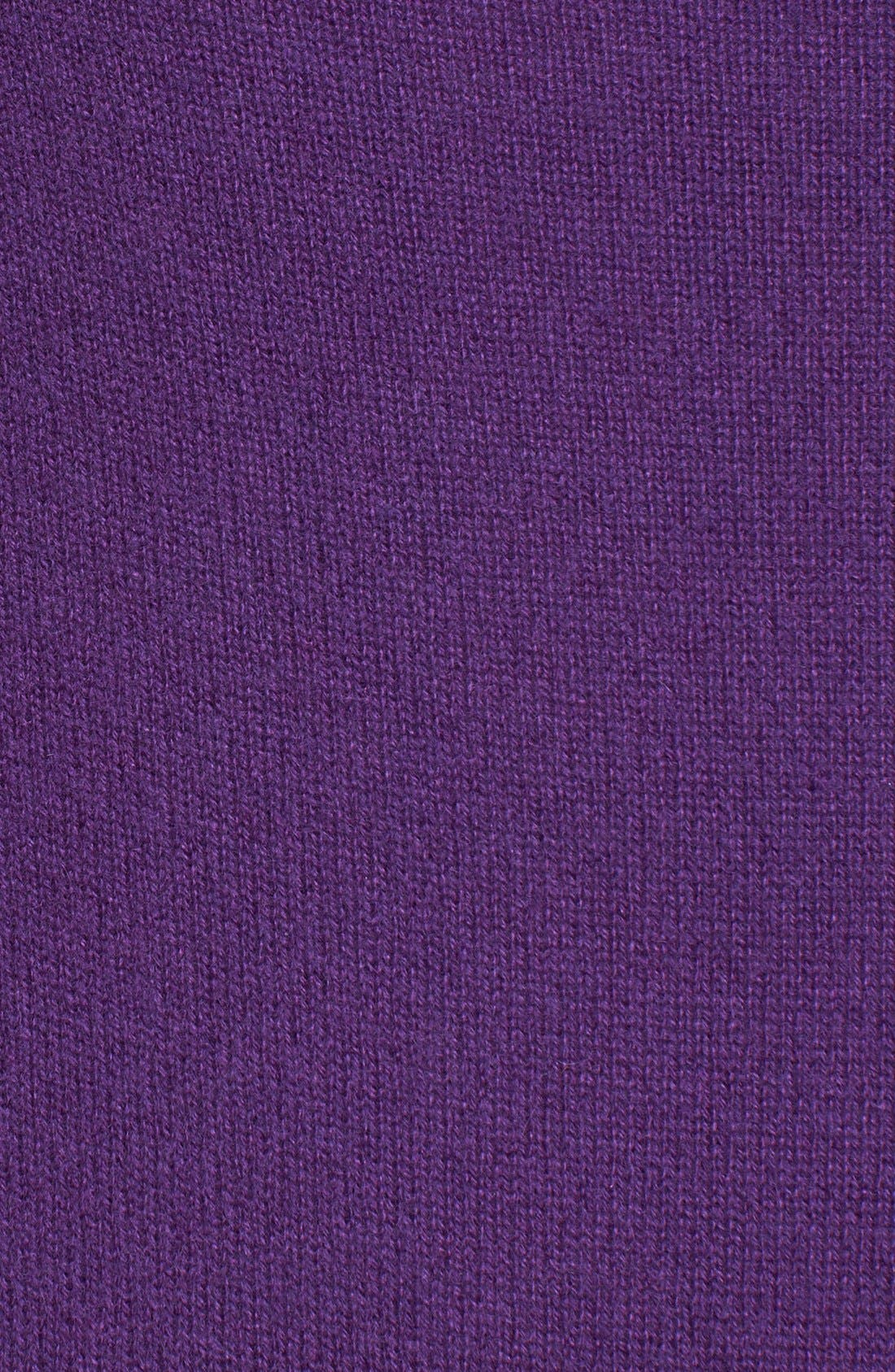 Alternate Image 3  - Halogen® Raglan Sleeve Cashmere Sweater (Petite)