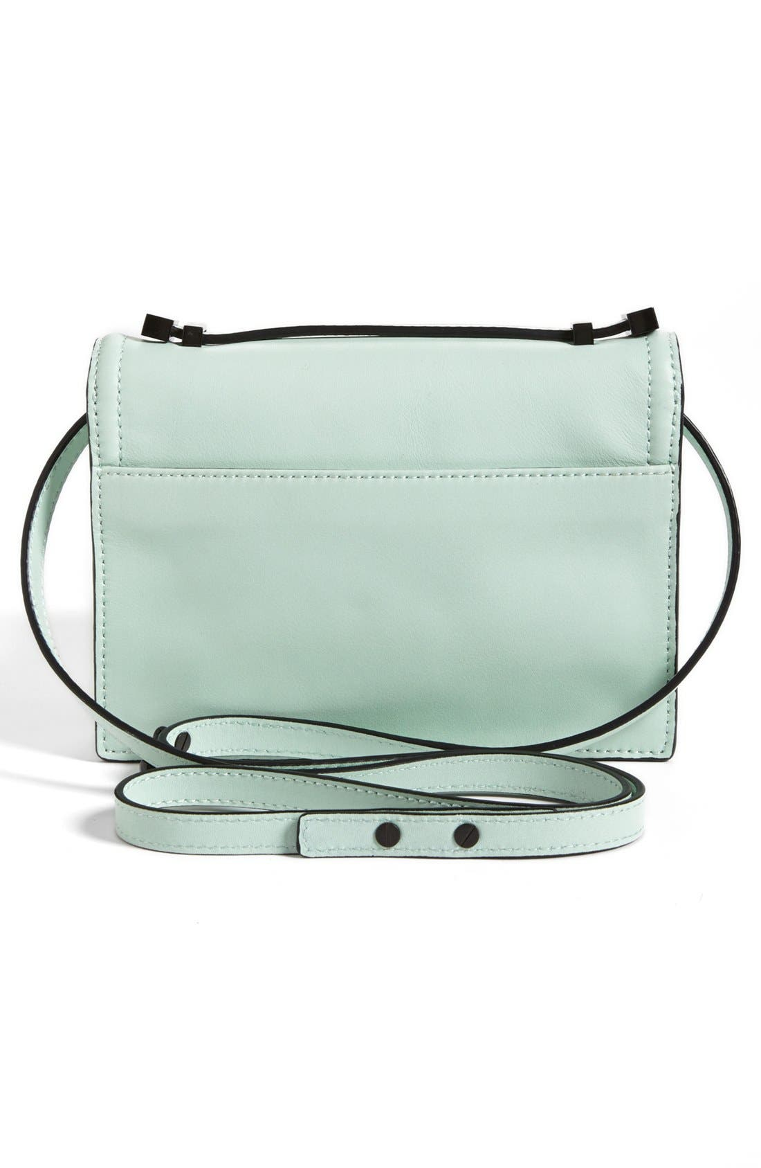 Alternate Image 4  - Loeffler Randall 'Rider - Mini' Leather Satchel