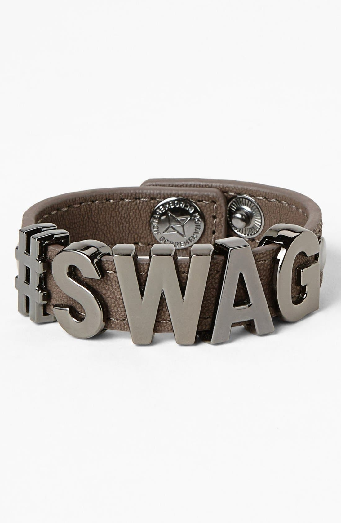 Alternate Image 1 Selected - BCBGeneration 'Hashtag Swag' Bracelet