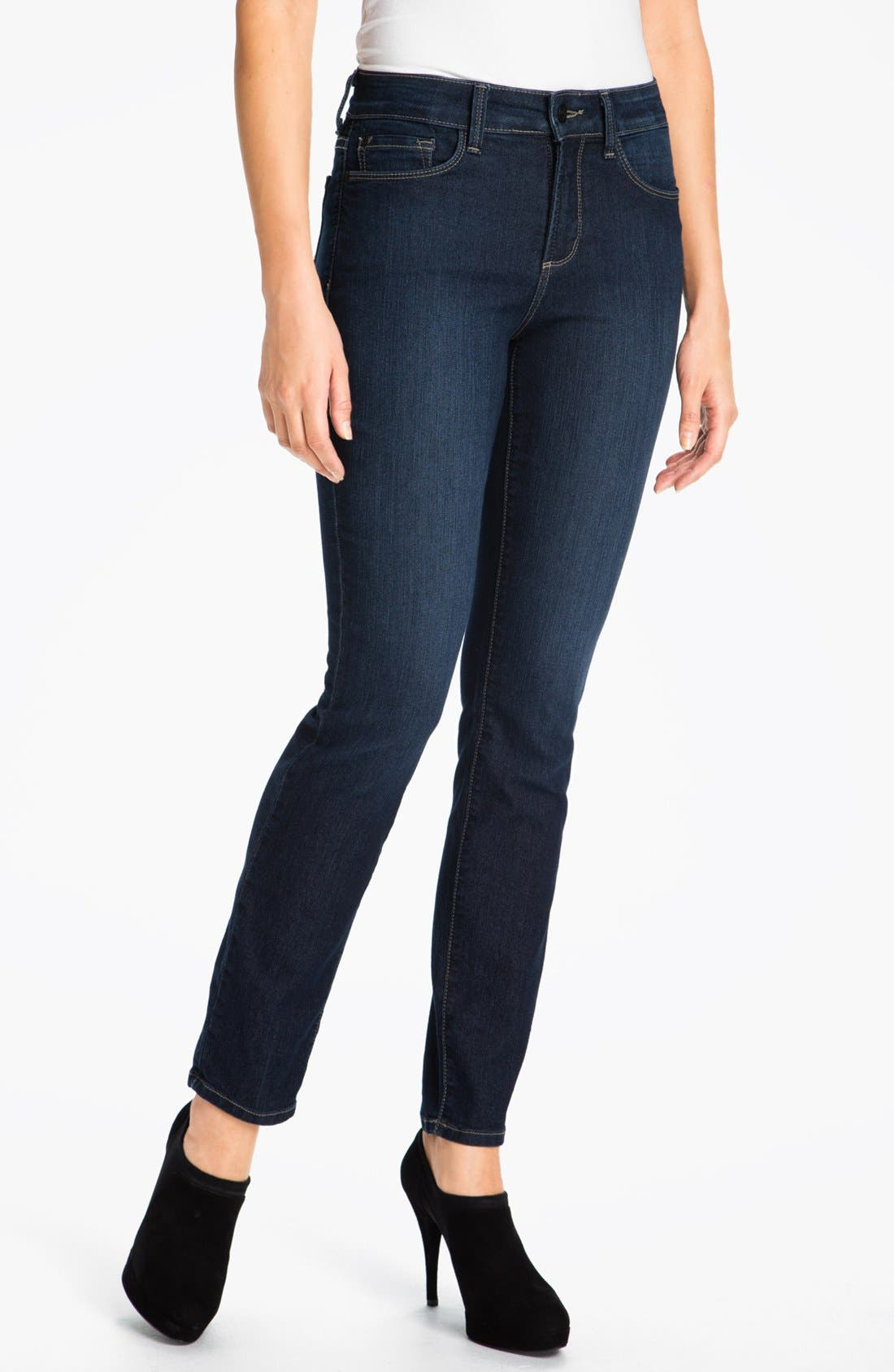 Alternate Image 1 Selected - NYDJ 'Alina' Stretch Skinny Jeans (Hollywood)