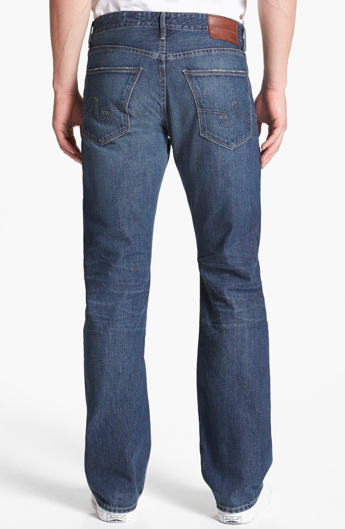 Alternate Image 2  - AG 'Protégé' Straight Leg Jeans (18 Years Carve)