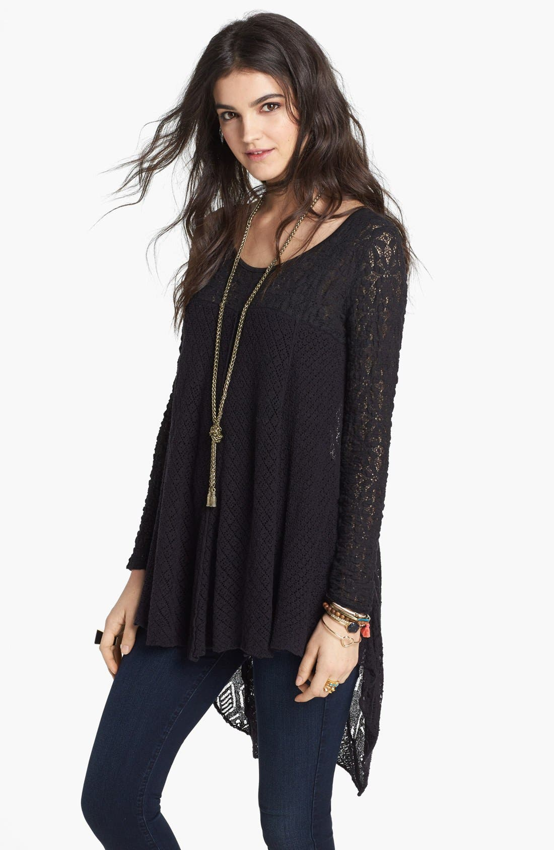 Alternate Image 1 Selected - Free People 'Black Magic' Pullover