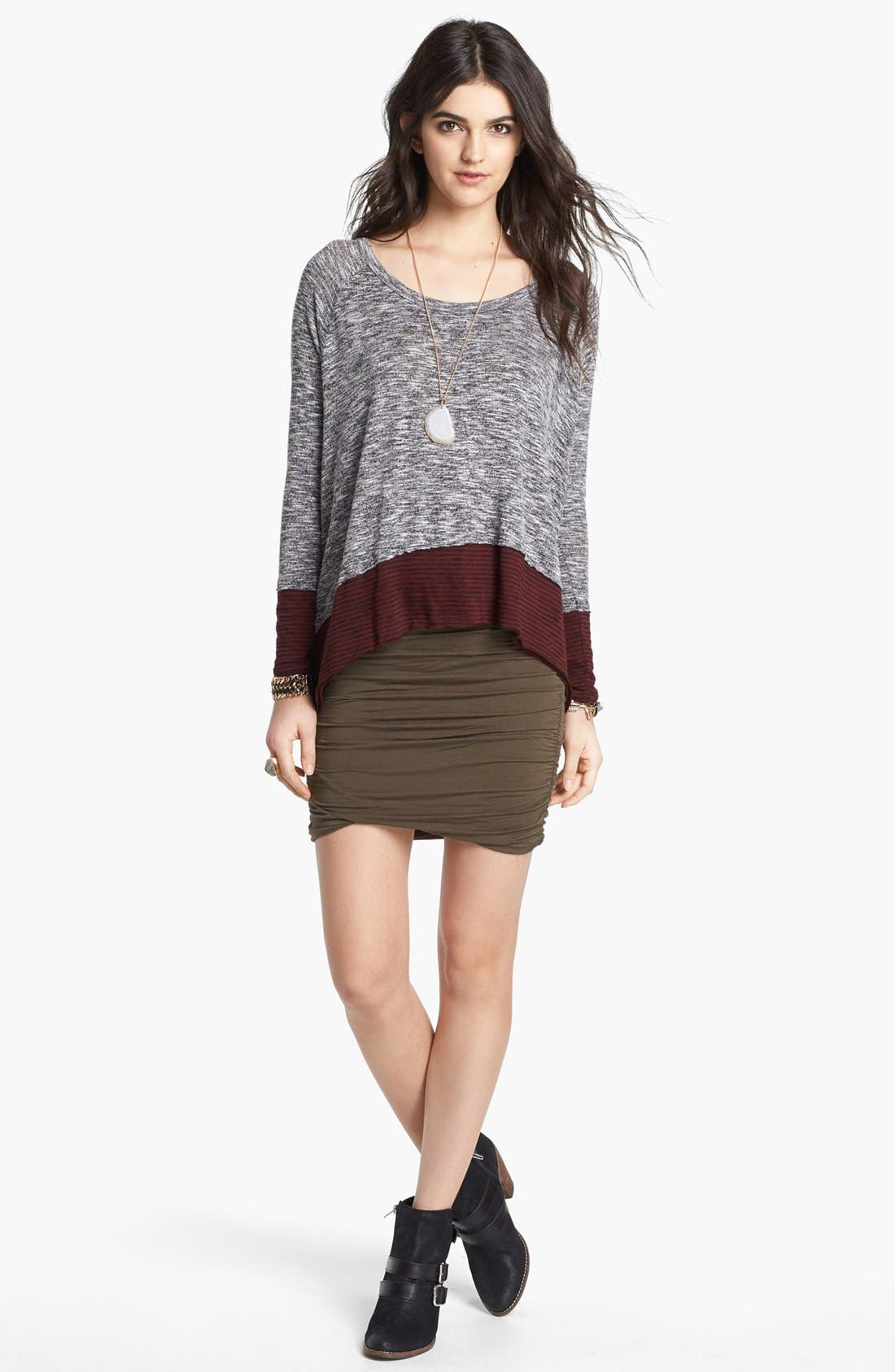 Alternate Image 1 Selected - Free People 'Huntington Hacci' Colorblock Top