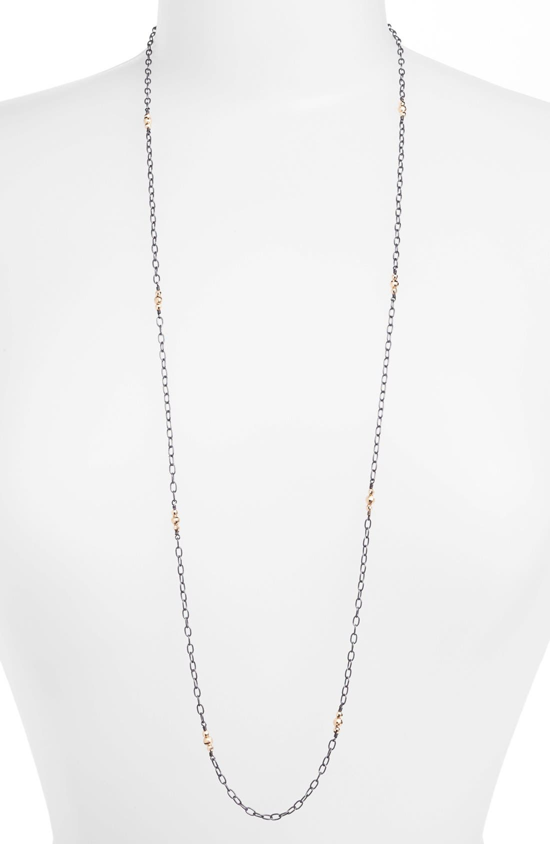 Alternate Image 1 Selected - Mizuki 'Cut Beads' Long Station Necklace