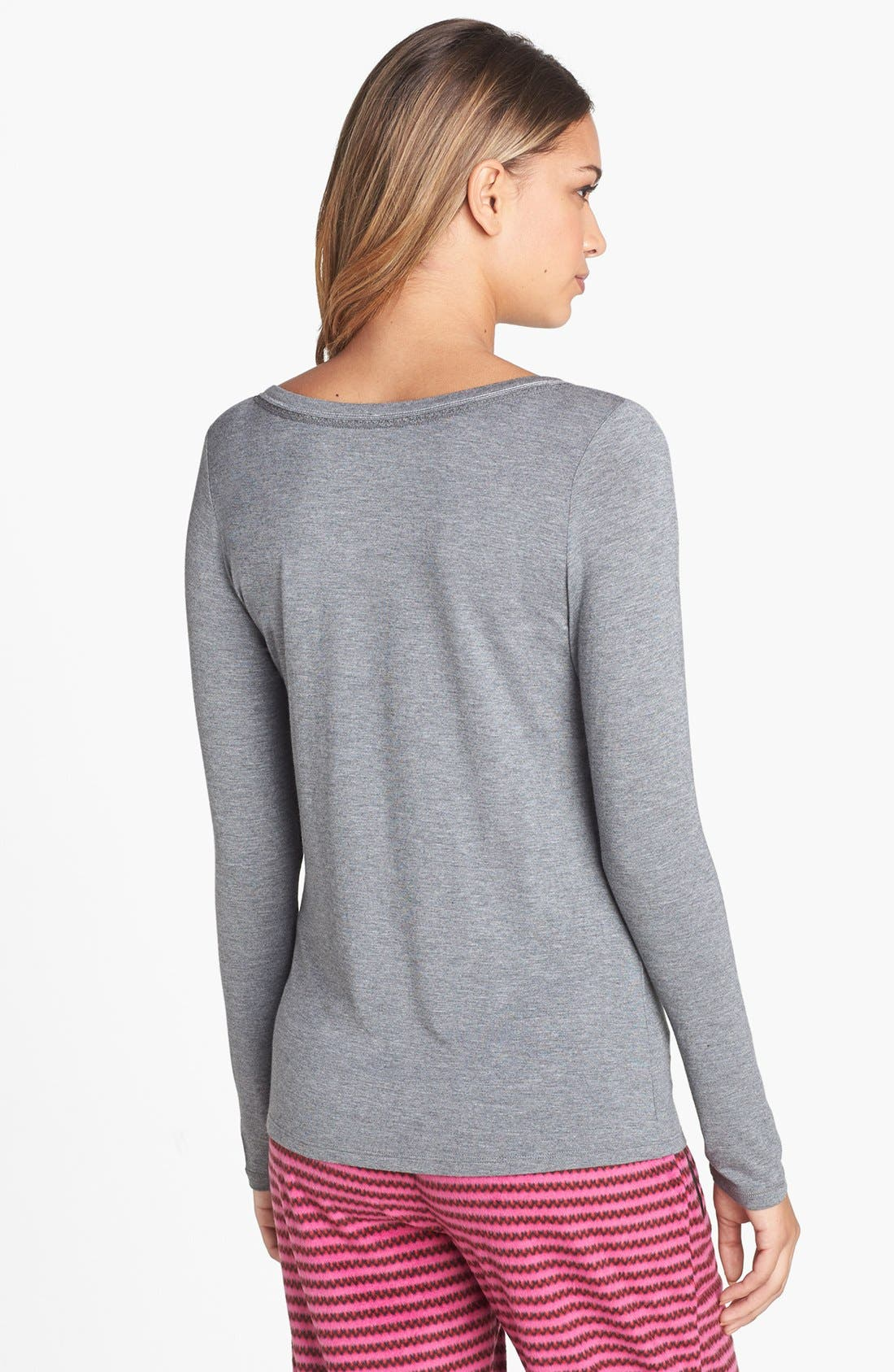 Alternate Image 2  - kensie 'Chilled Out' Henley Tee