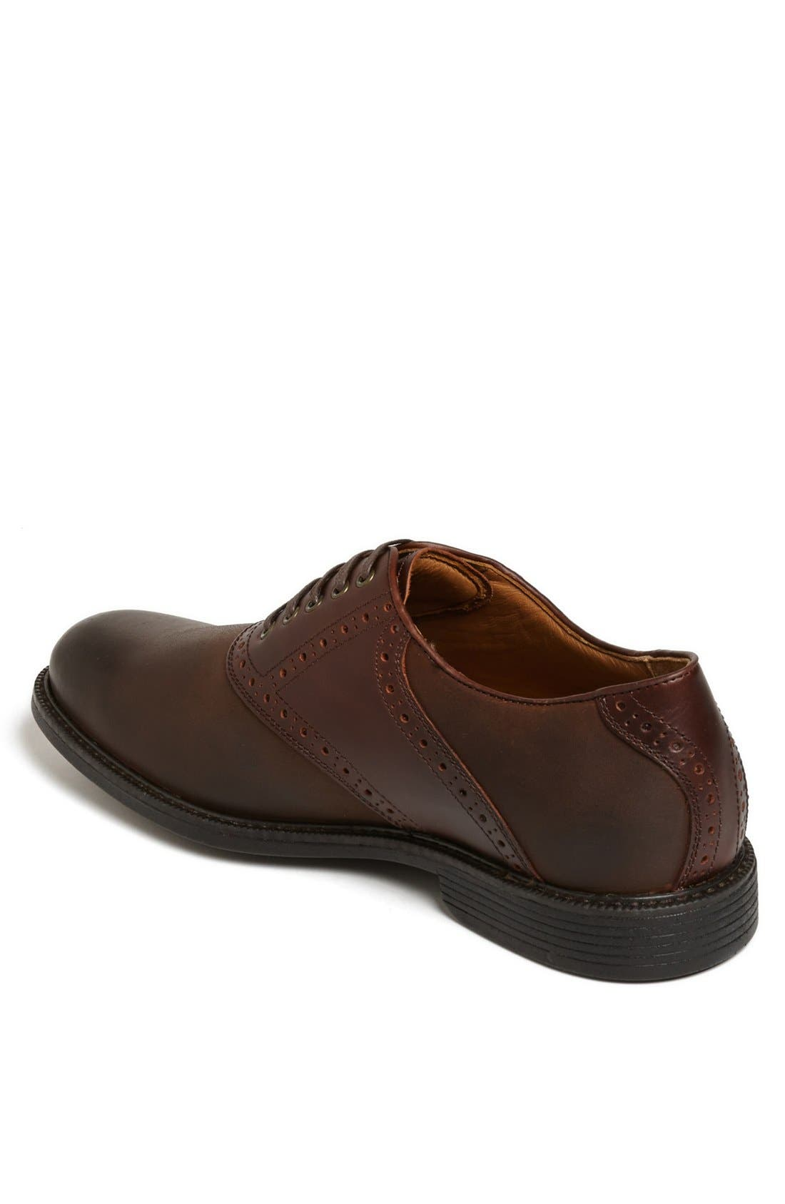 Alternate Image 2  - Johnston & Murphy 'Cardell' Waterproof Saddle Oxford (Men)