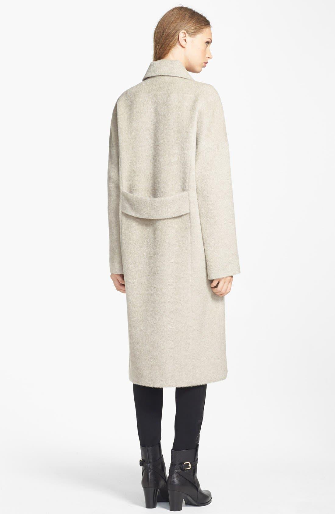 Alternate Image 2  - Andean Long Oversized Alpaca Blend Coat