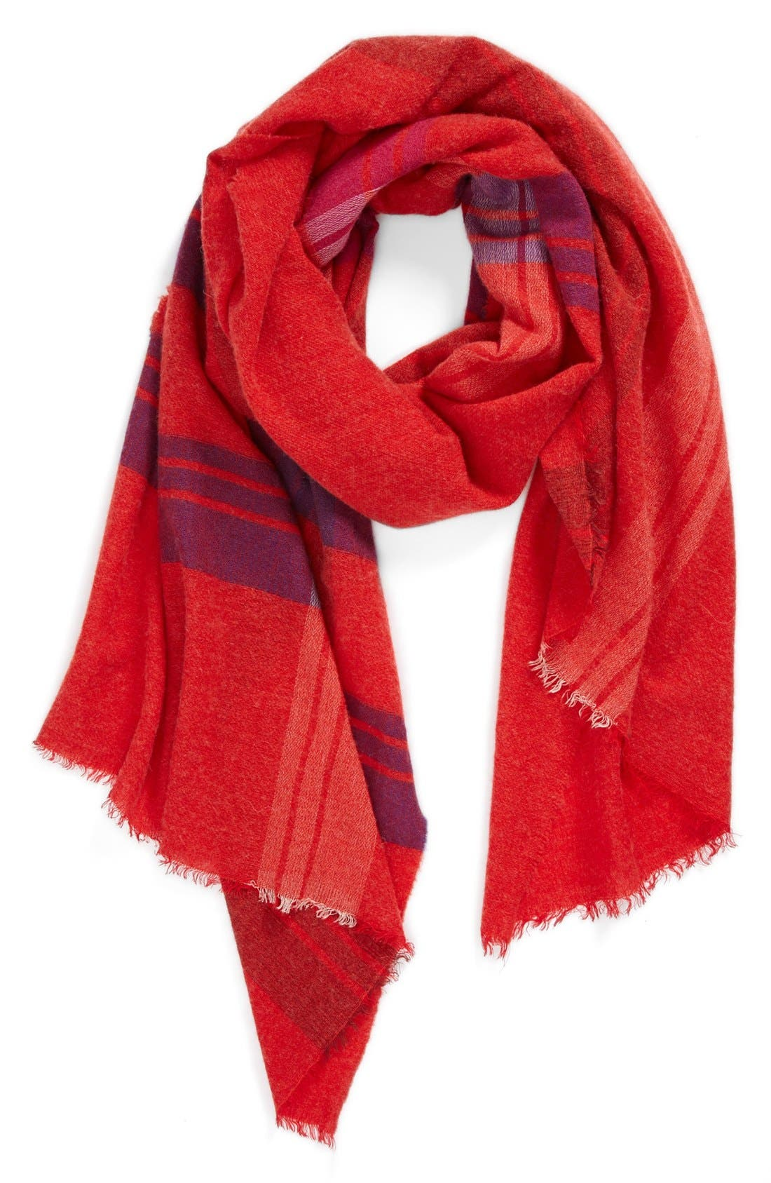 Alternate Image 1 Selected - MARC BY MARC JACOBS Jumbo Plaid Scarf